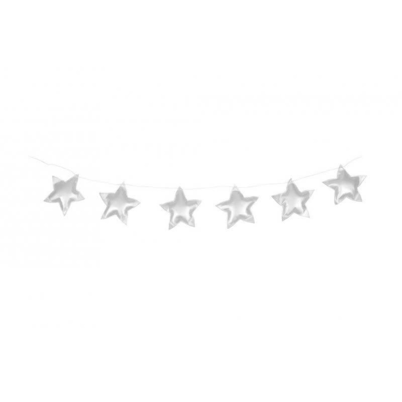 Cotton & Sweets Star Garland - Silver