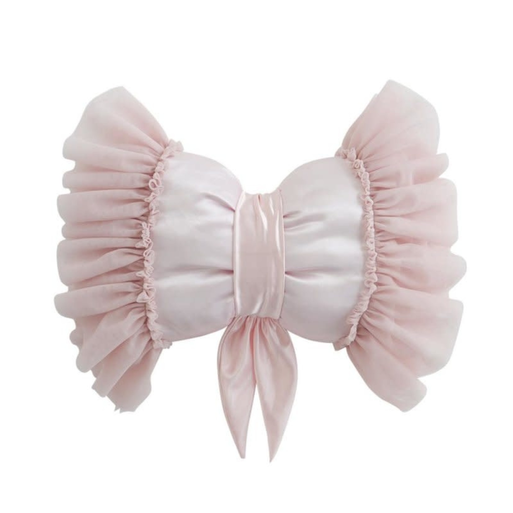 Butterfly Pillow Pale Rose
