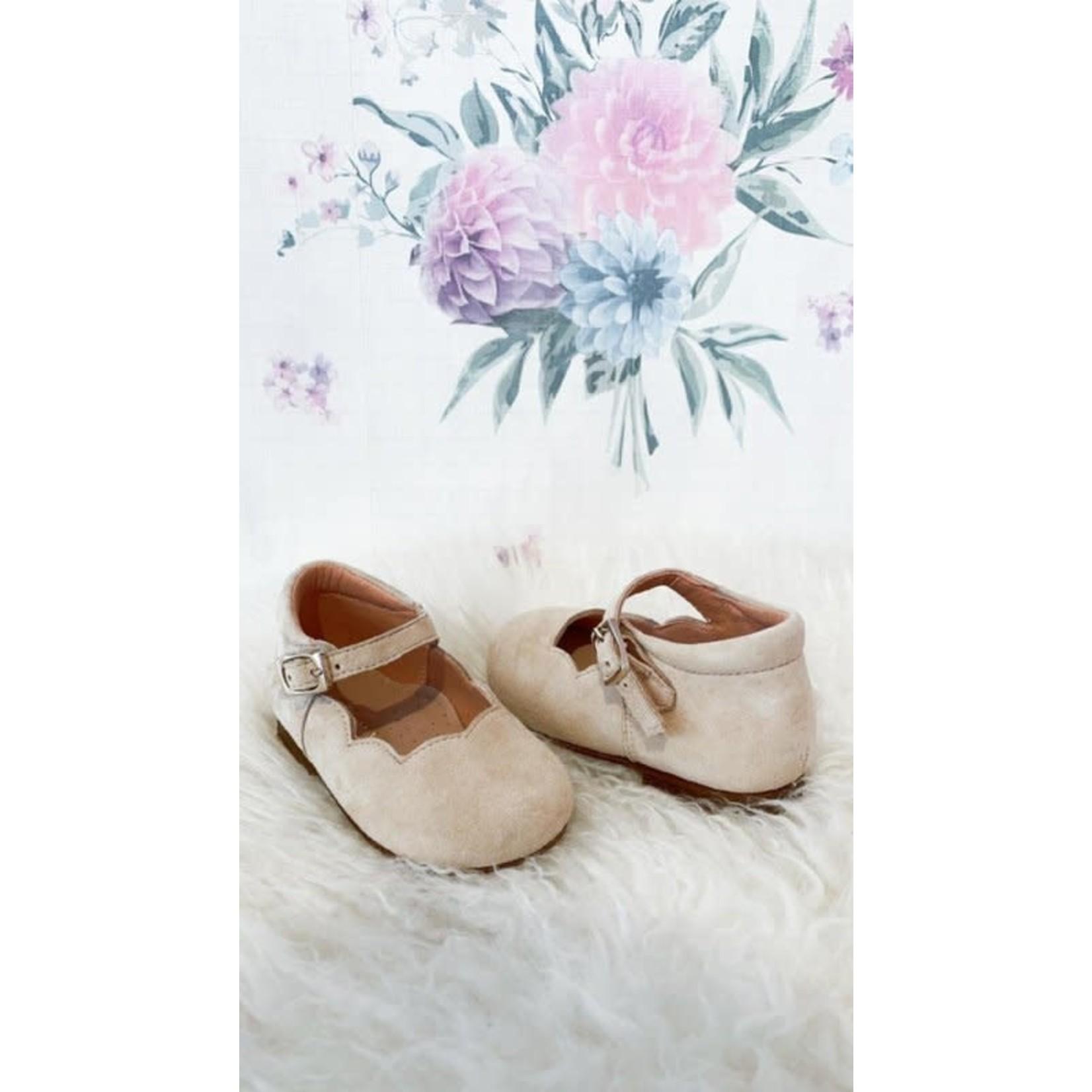 Clarys Shoes Suede Beige