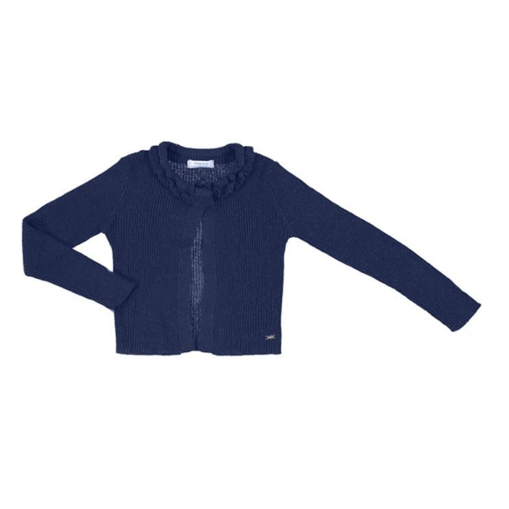 Knitted Cardigans Lurex Navy- Mayoral