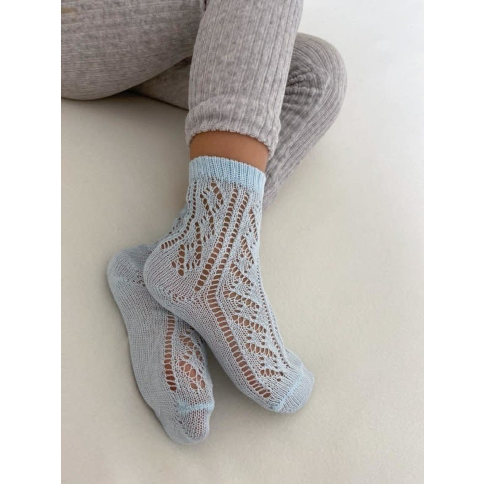 Condor Socks Open - Light Blue
