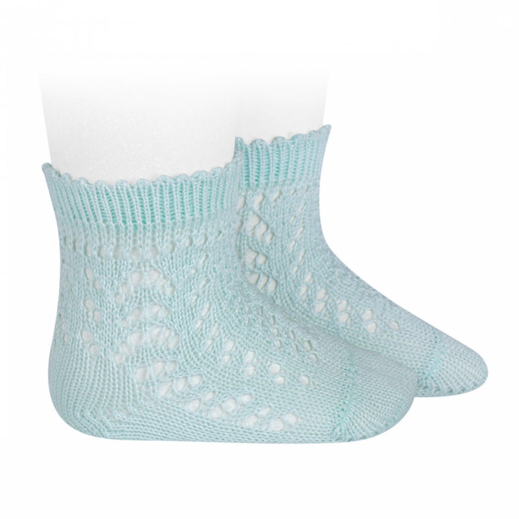 Socks Open - Aquamarine