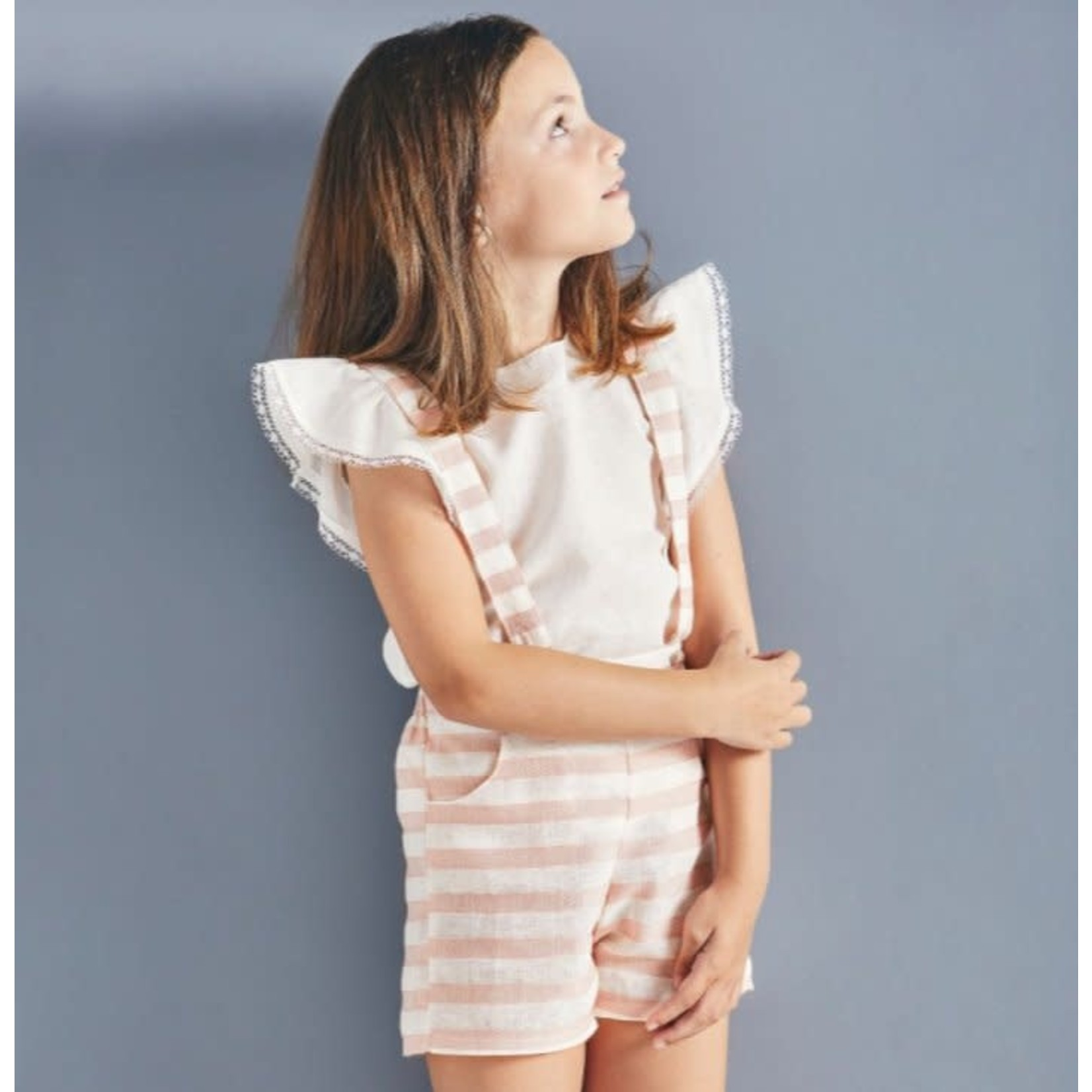 Set Pink & Ivory Stripes