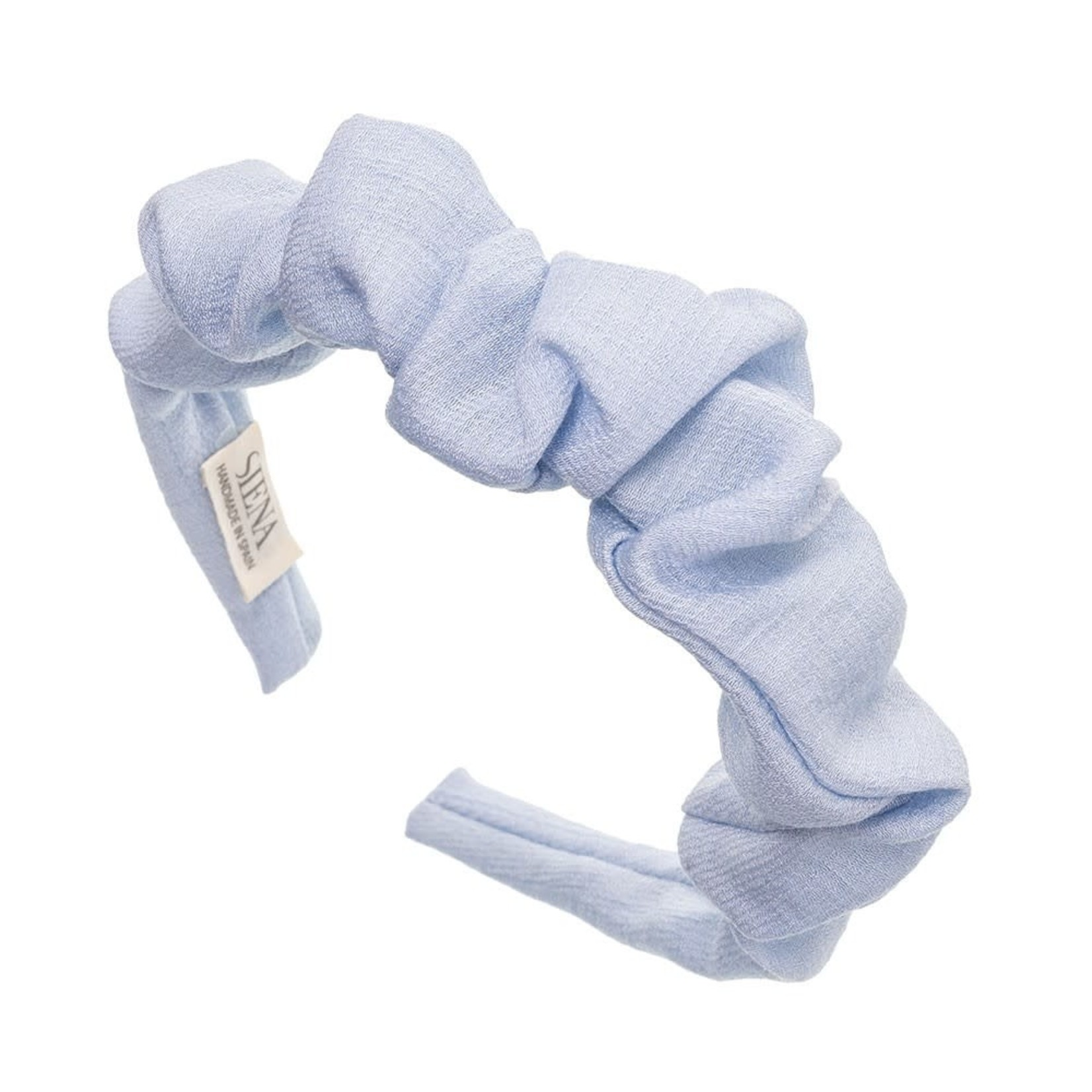 Siena Hairband Scrunchie - Pale Blue