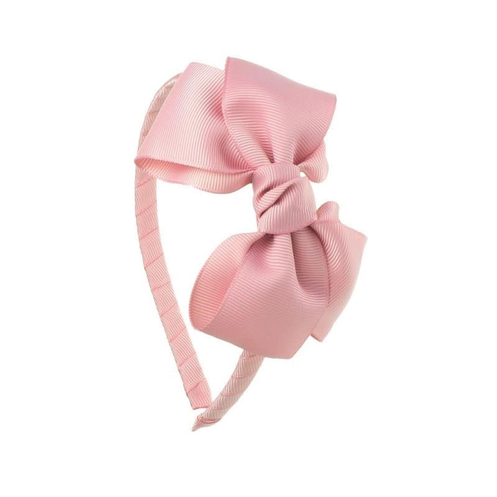 Diadeem Butterfly Bow - Rosa