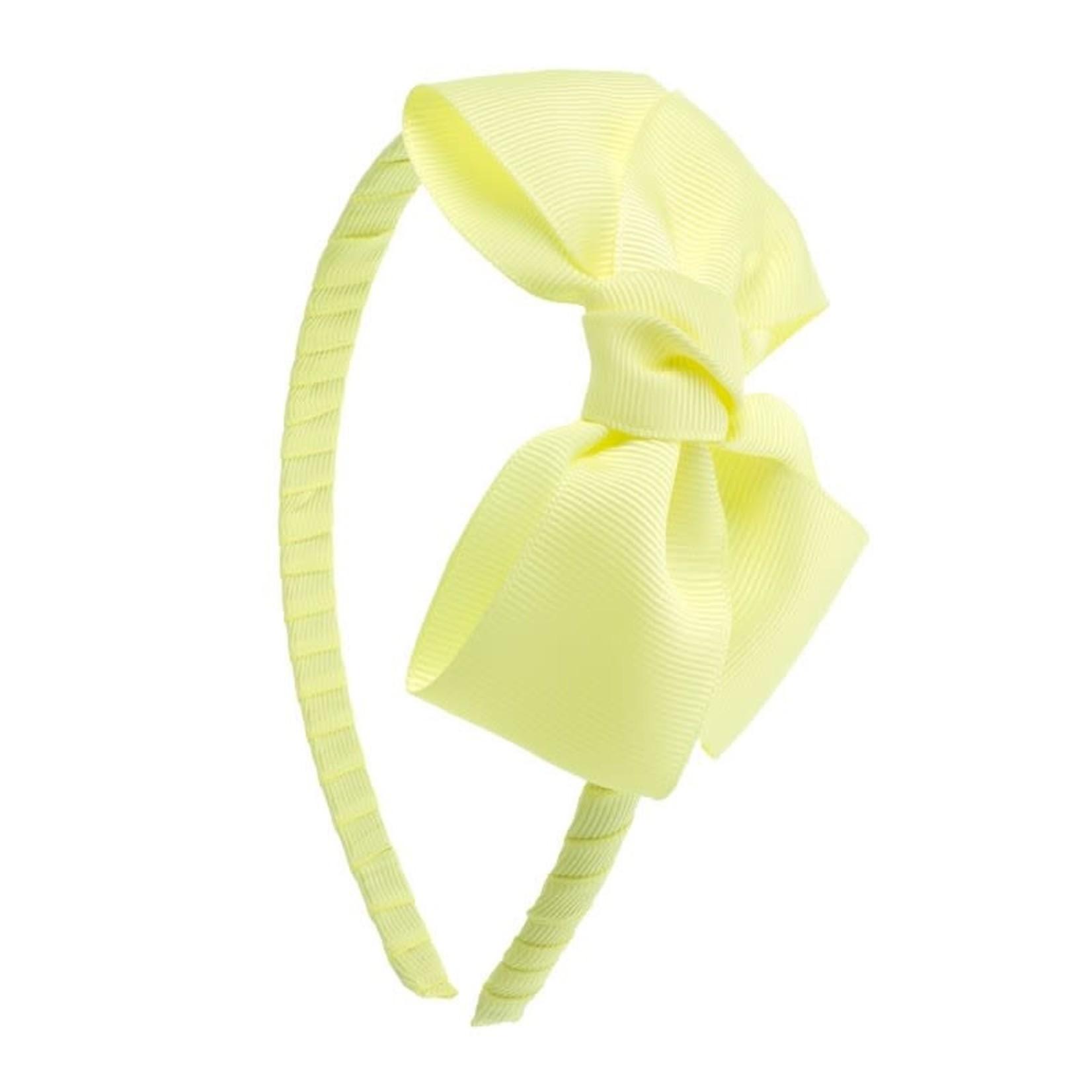 Siena Diadeem Butterfly Bow - Yellow