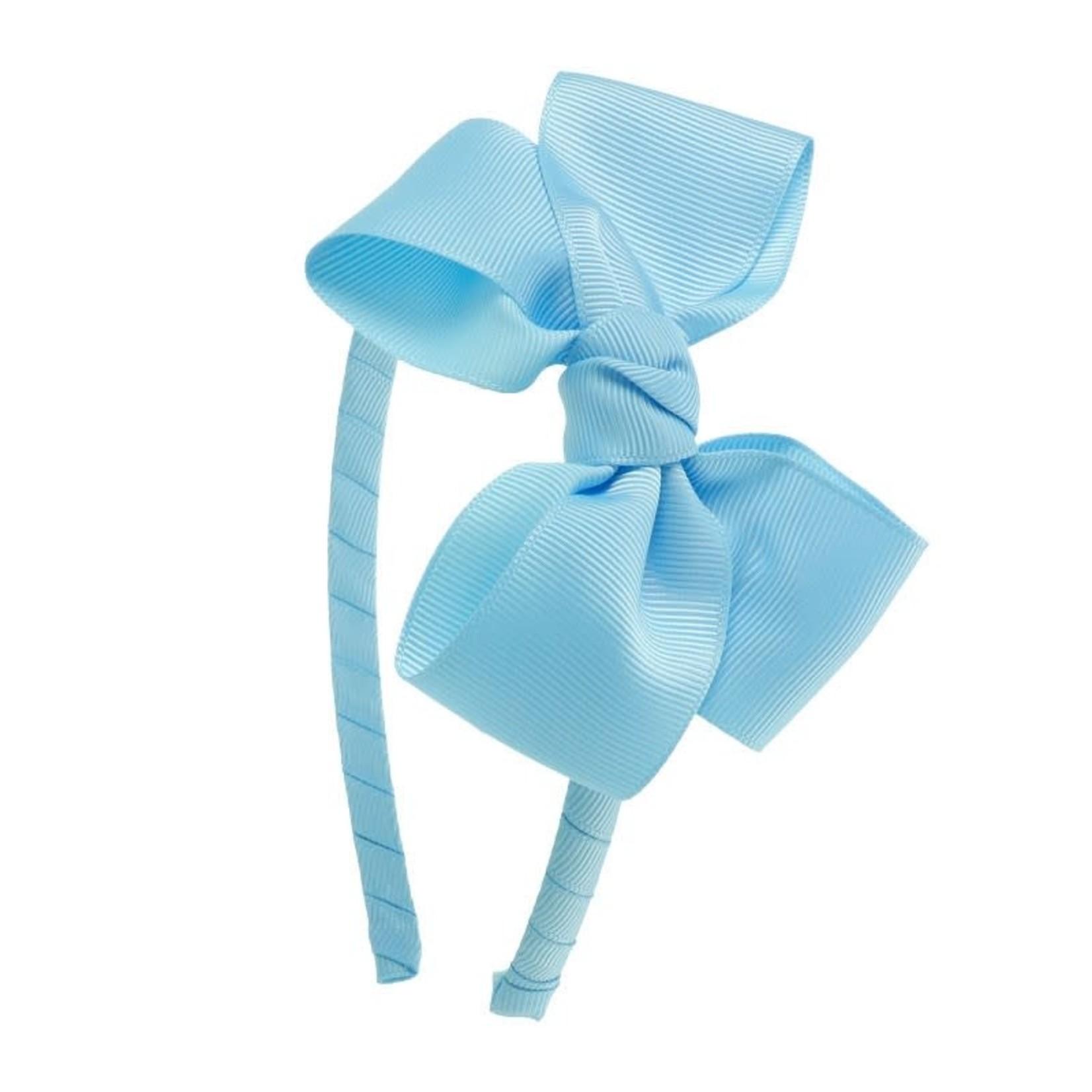 Siena Diadeem Butterfly Bow - Baby Blue