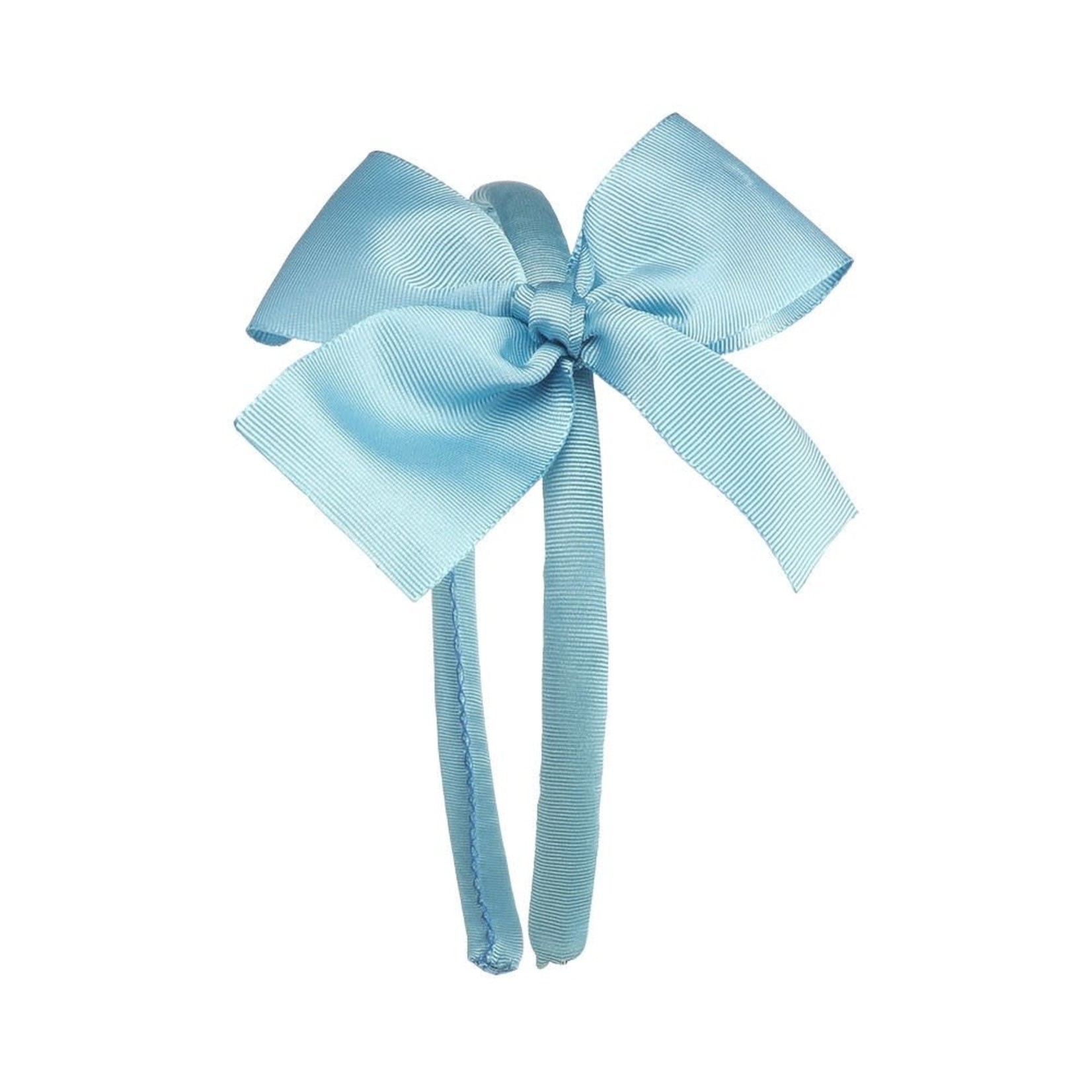 Siena Diadeem Large Bow - Turquoise
