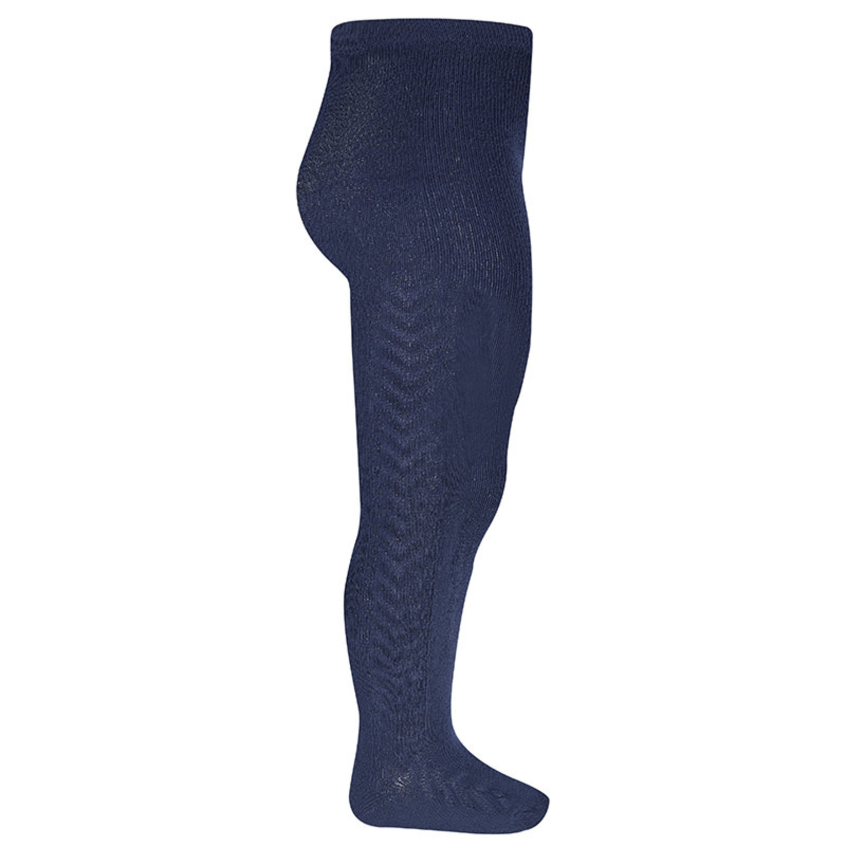 Condor Side Patterned Tights - Navy