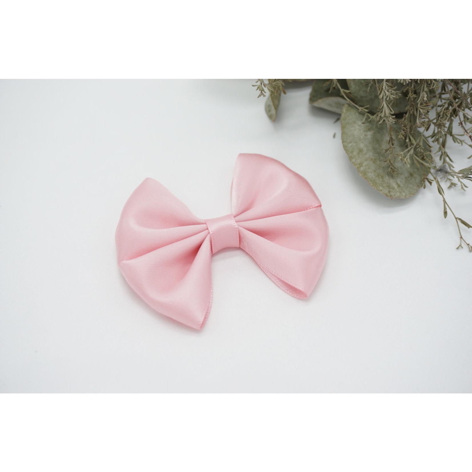 Petite Zara Satin Bow - Pink
