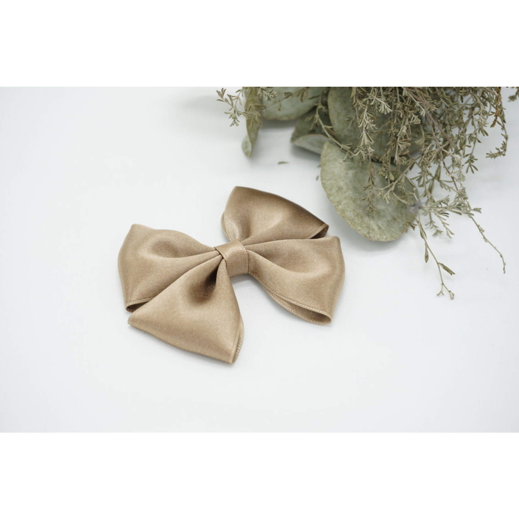 Petite Zara Satin Bow - Sienna