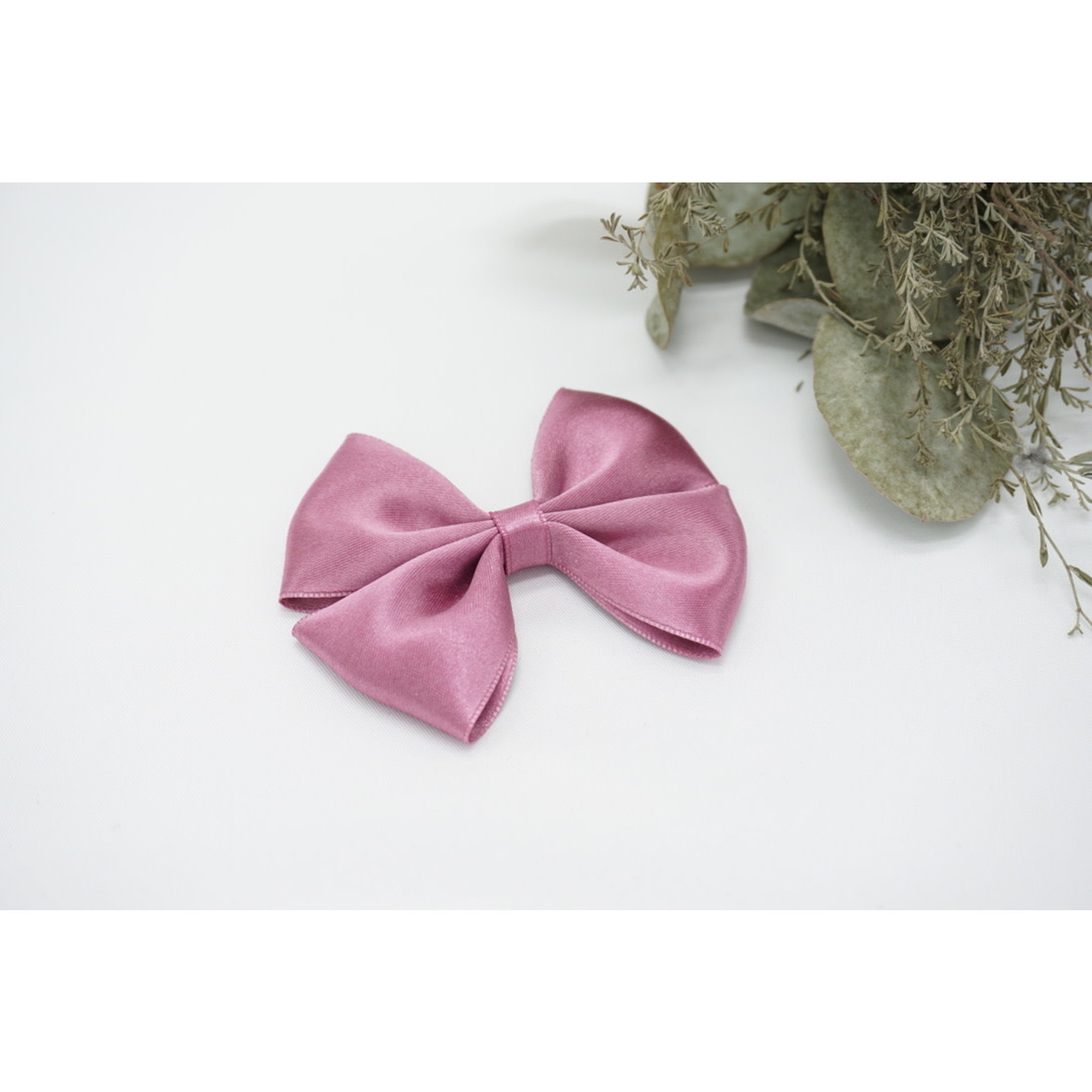 Petite Zara Satin Bow - Amethyst