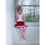 Bloomer Skirt Red Lace