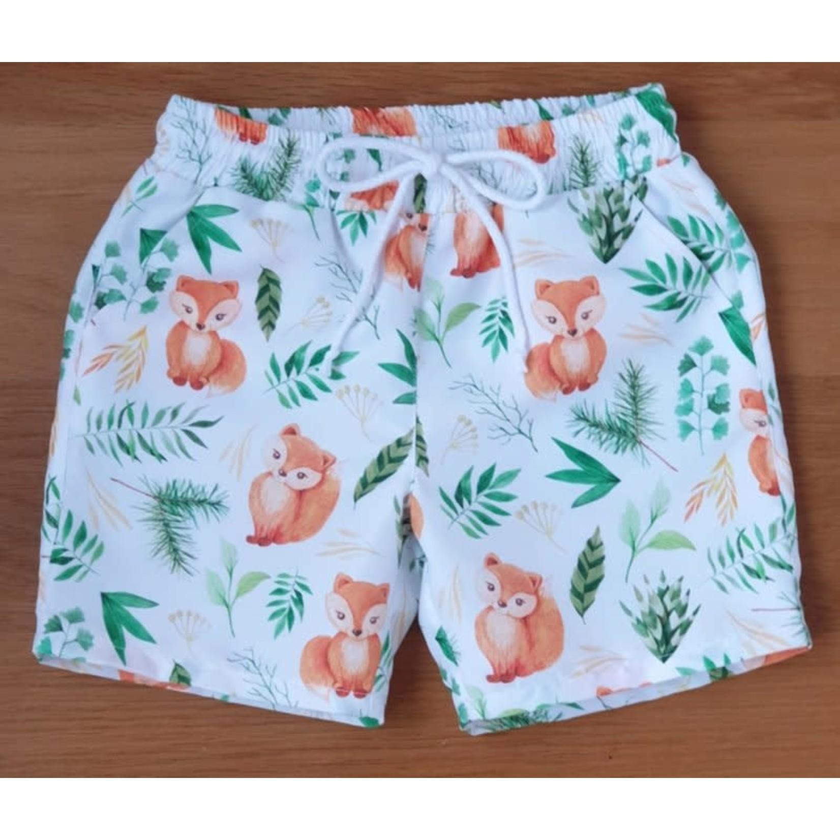 Camellia Swimshort Fox