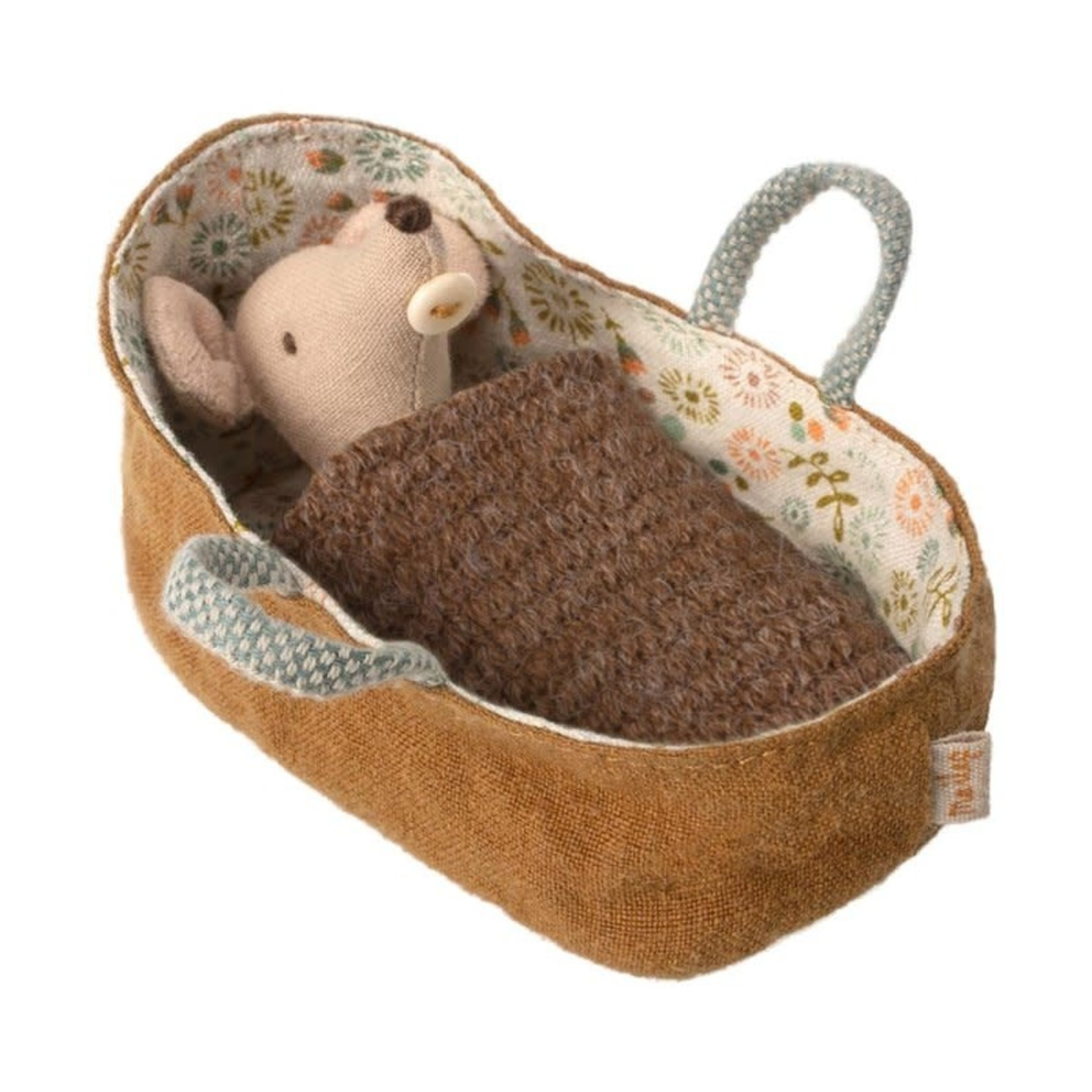Baby Mouse in carrycot - Maileg