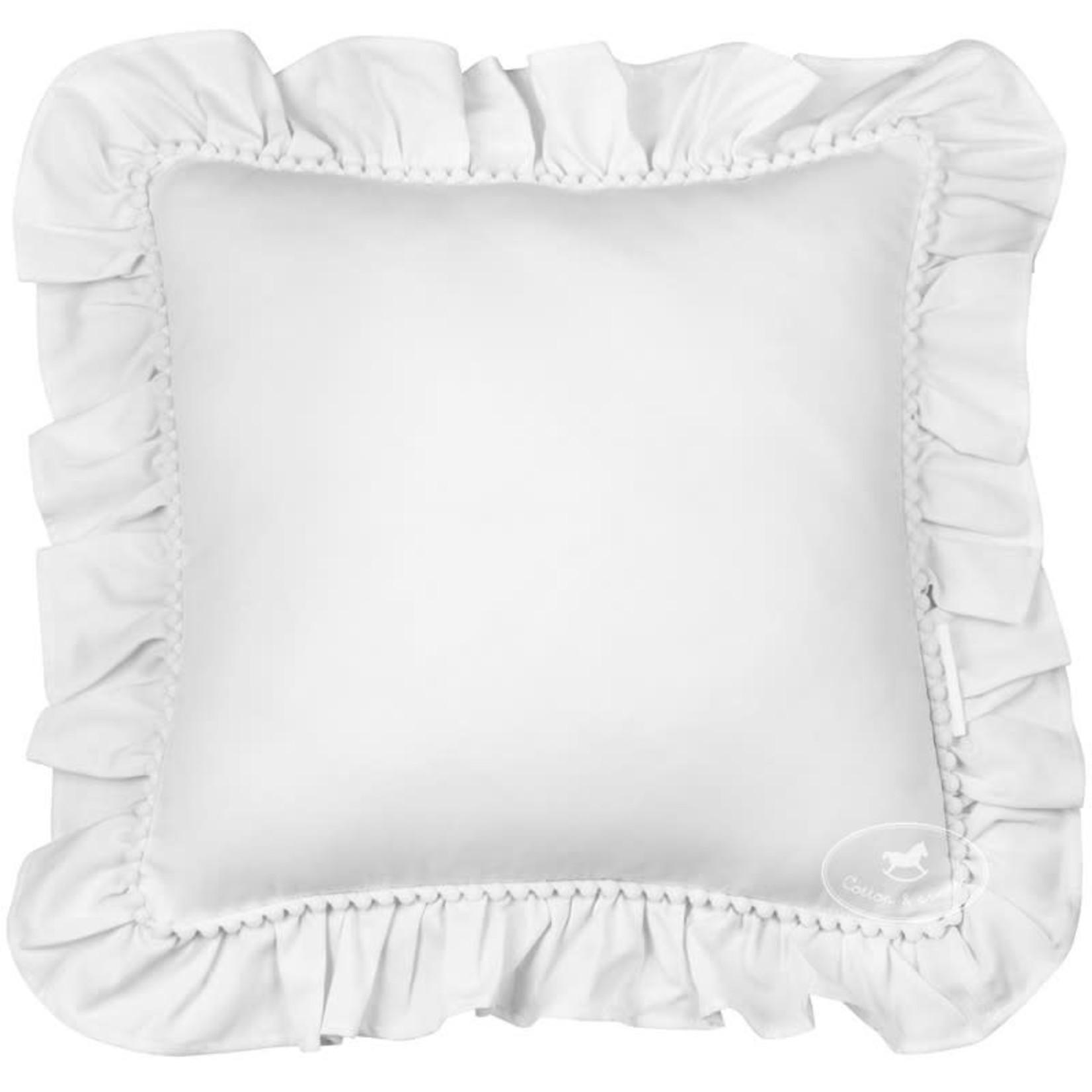 Cotton & Sweets Pillow Boho - White