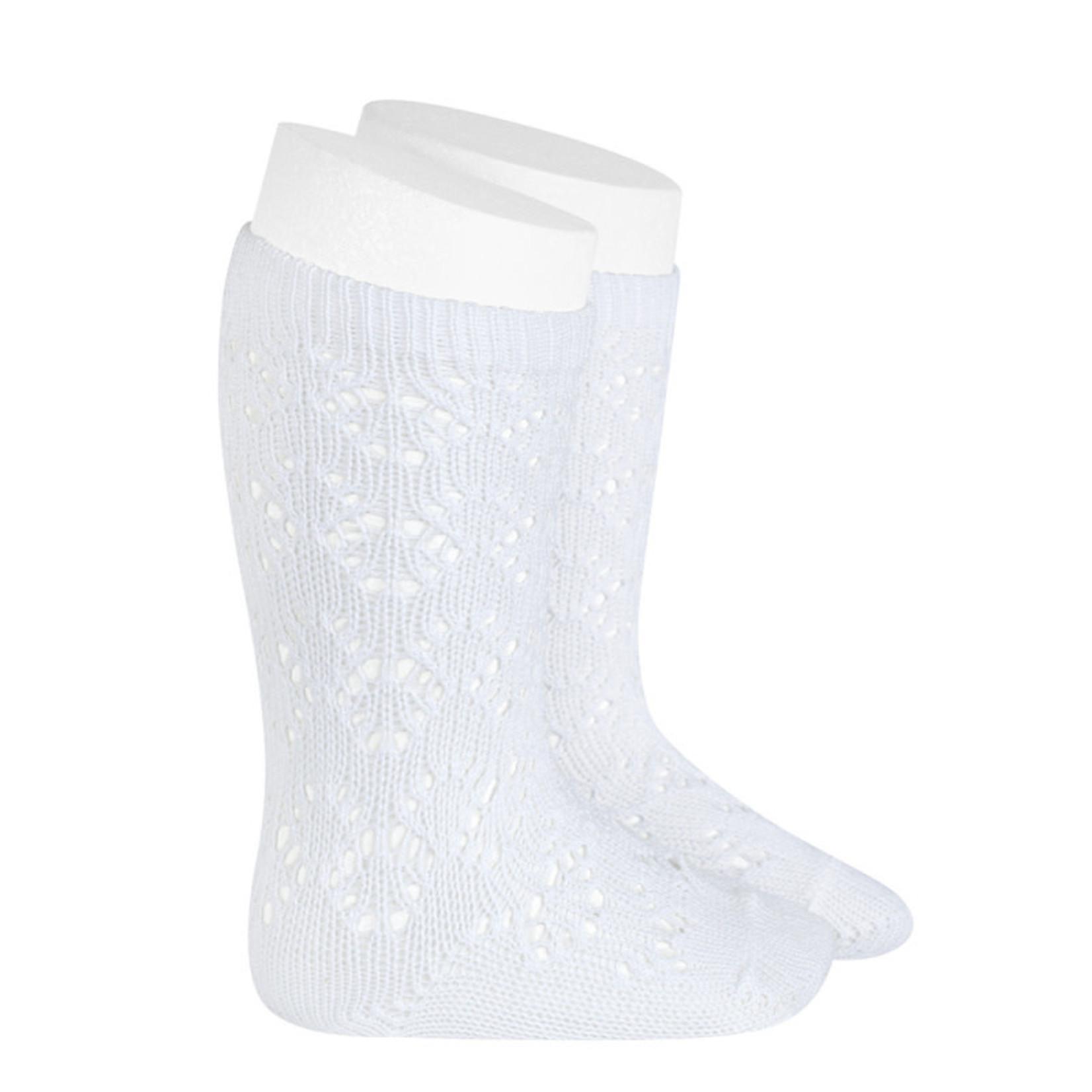 Socks Open -White