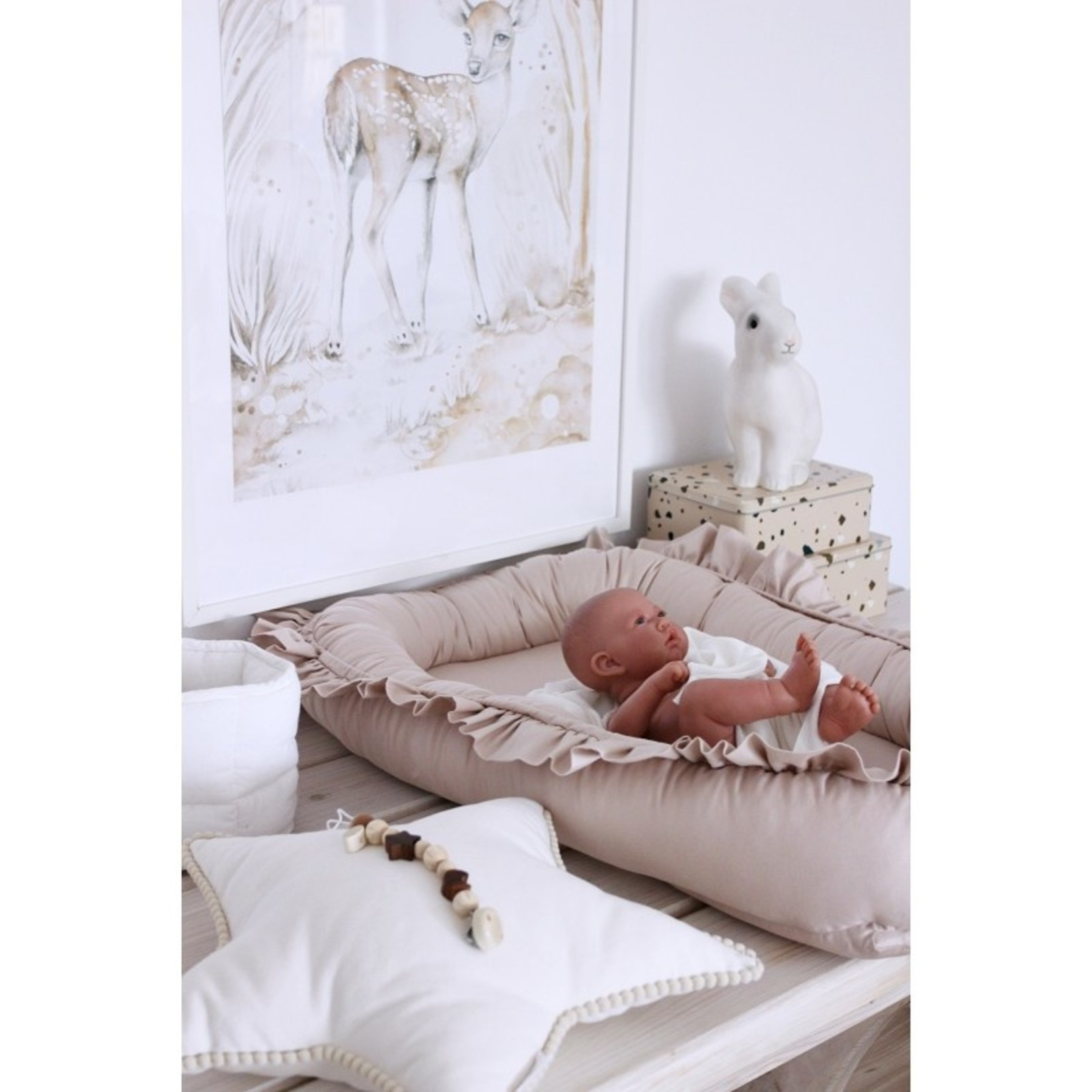 Cotton & Sweets Baby Nest Nude - Cotton & Sweets