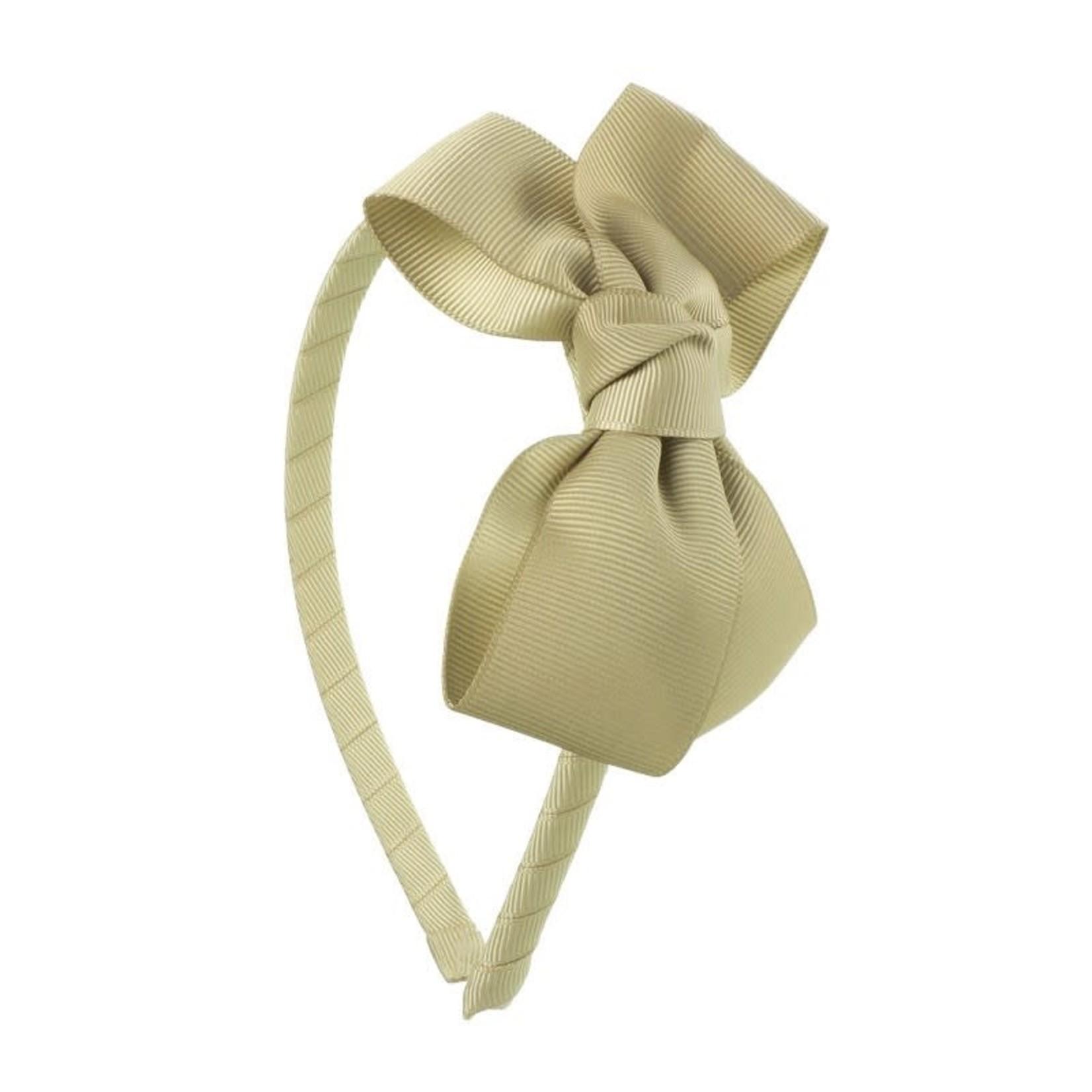Siena Diadeem Butterfly Bow - Camel