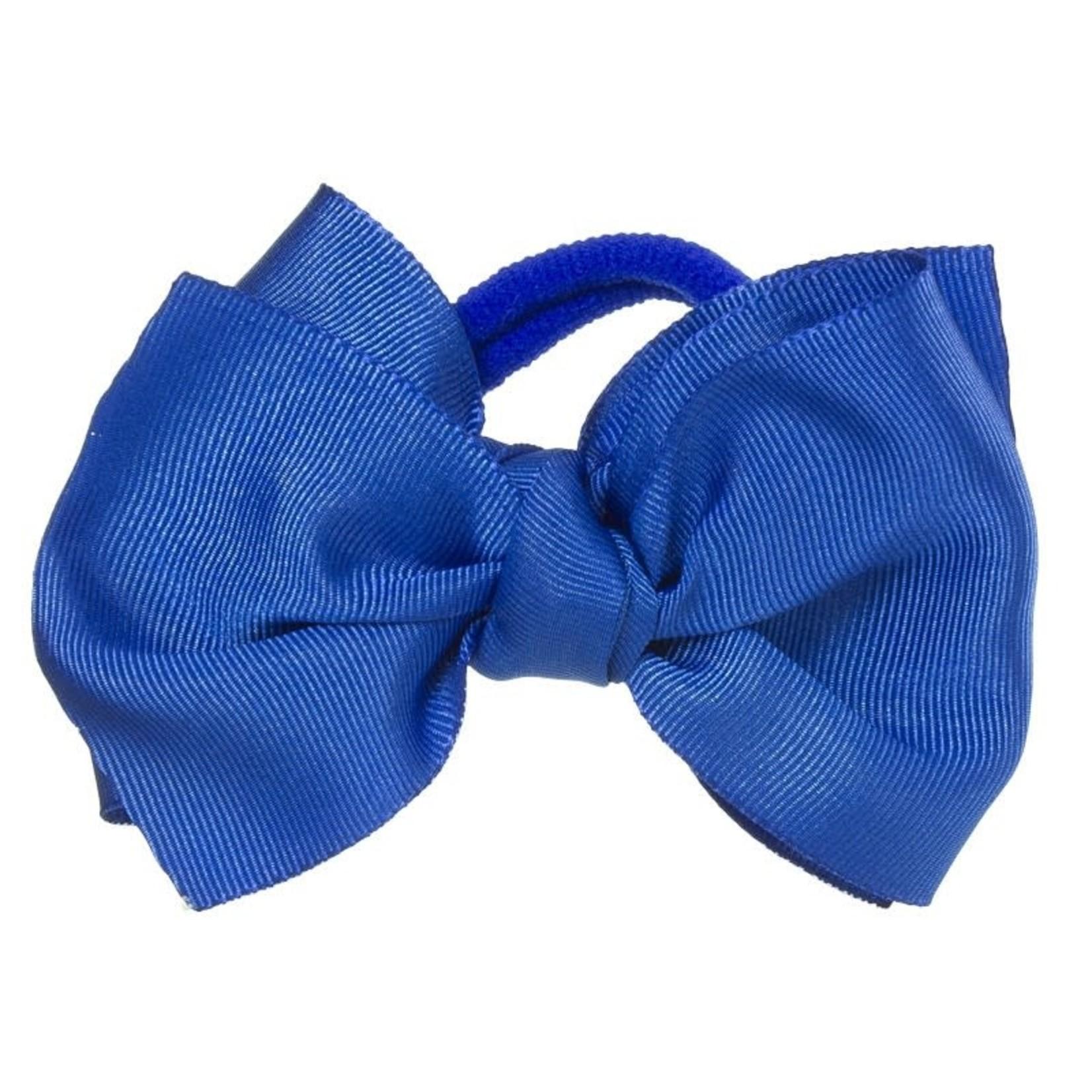 Siena Hair Bow - Dark Azul