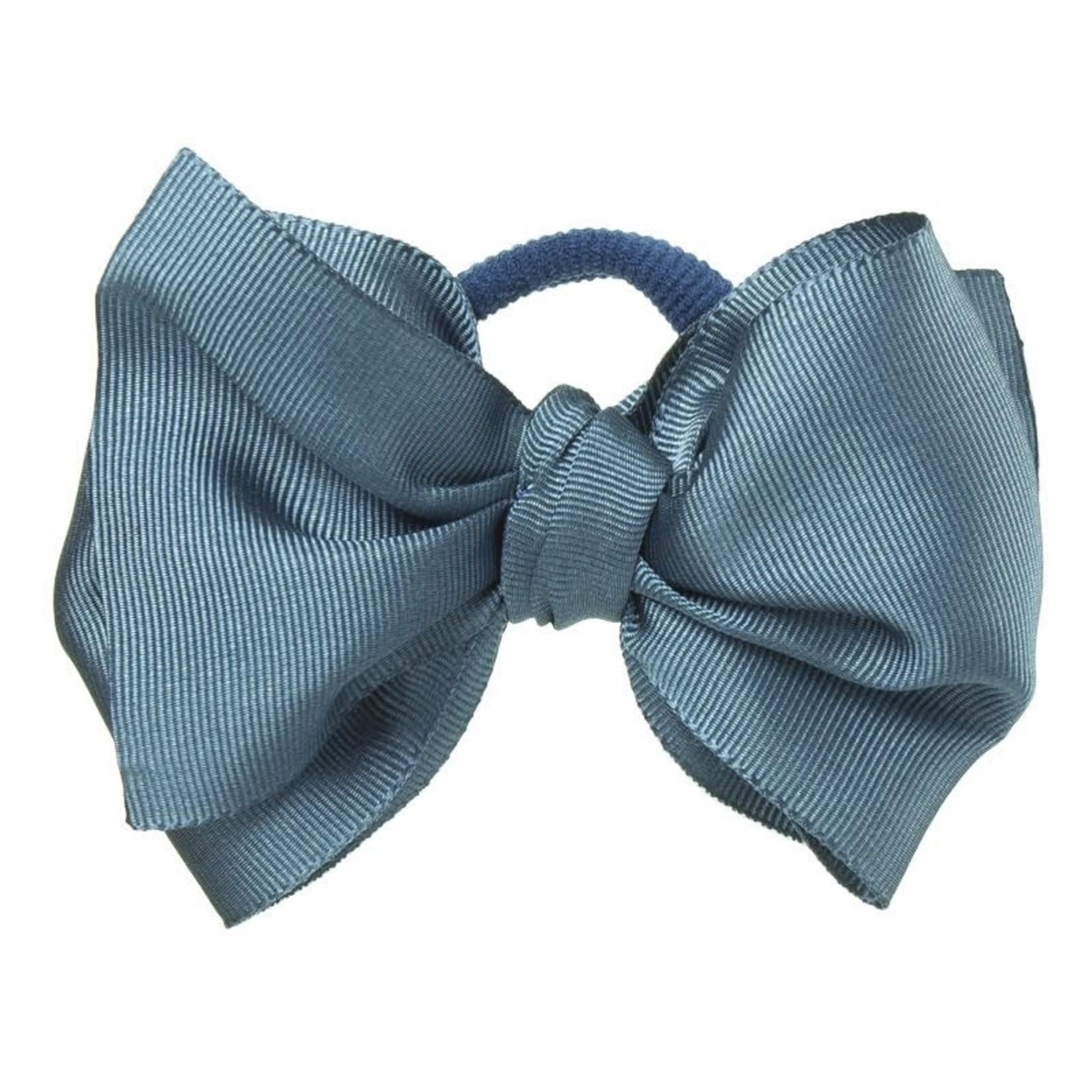 Siena Hair Bow - Blue Gray
