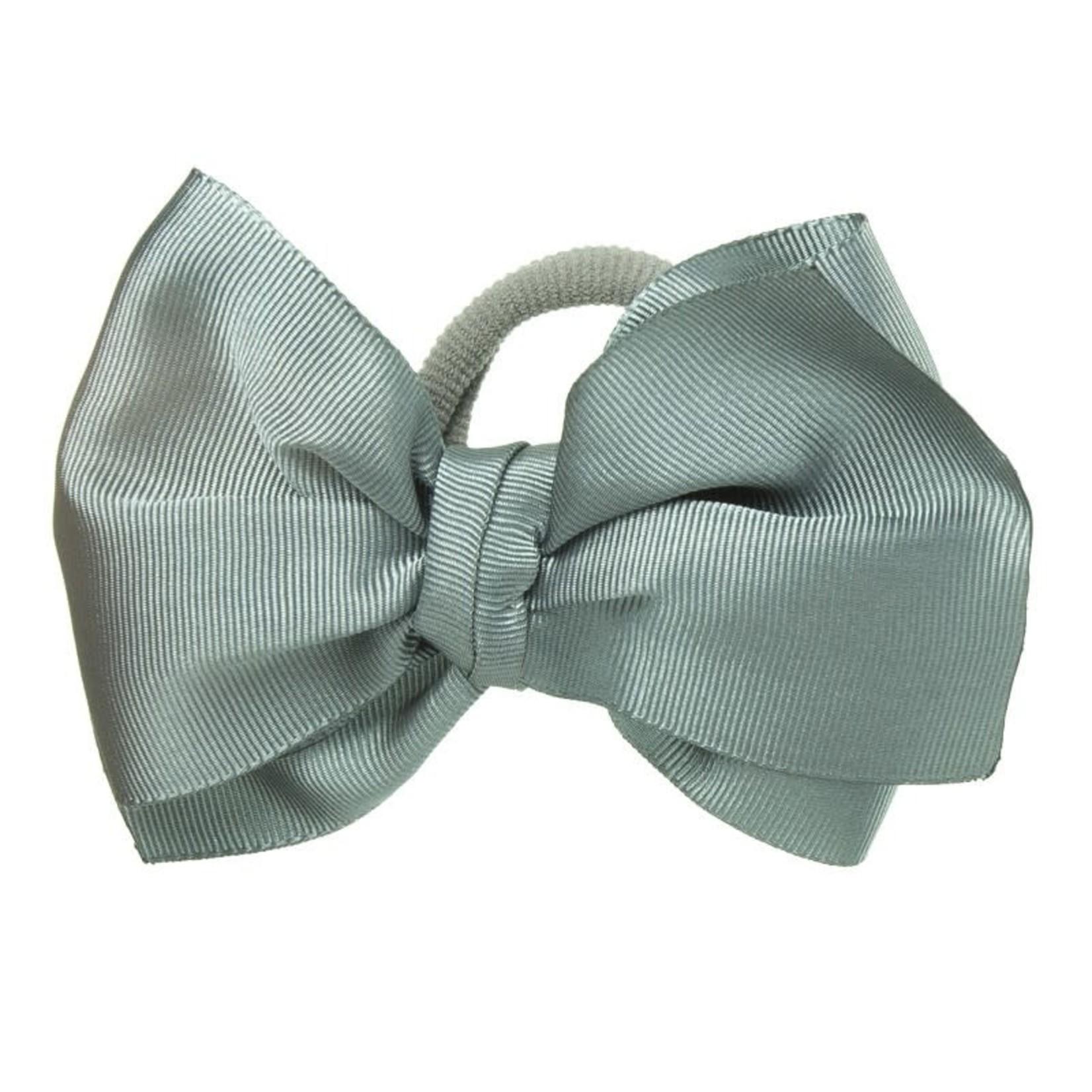 Copy of Hair Bow - Blue Gray