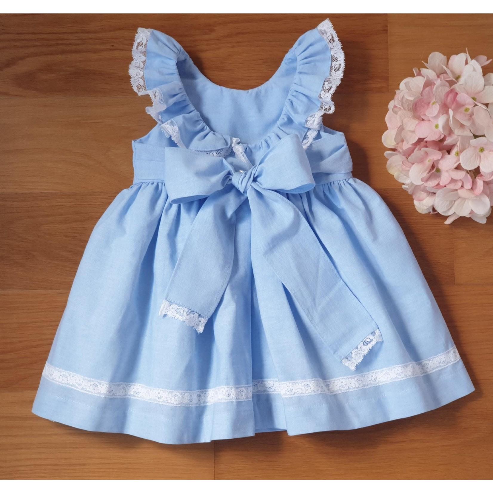 Camellia Dress Baby Blue
