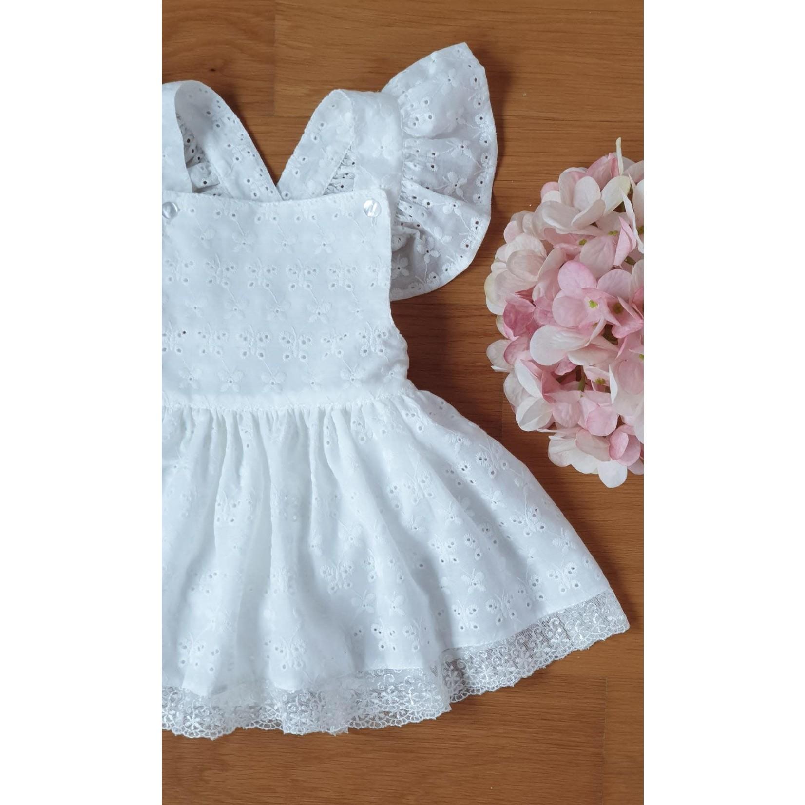 Camellia Broderie Ballerina Romper Dress