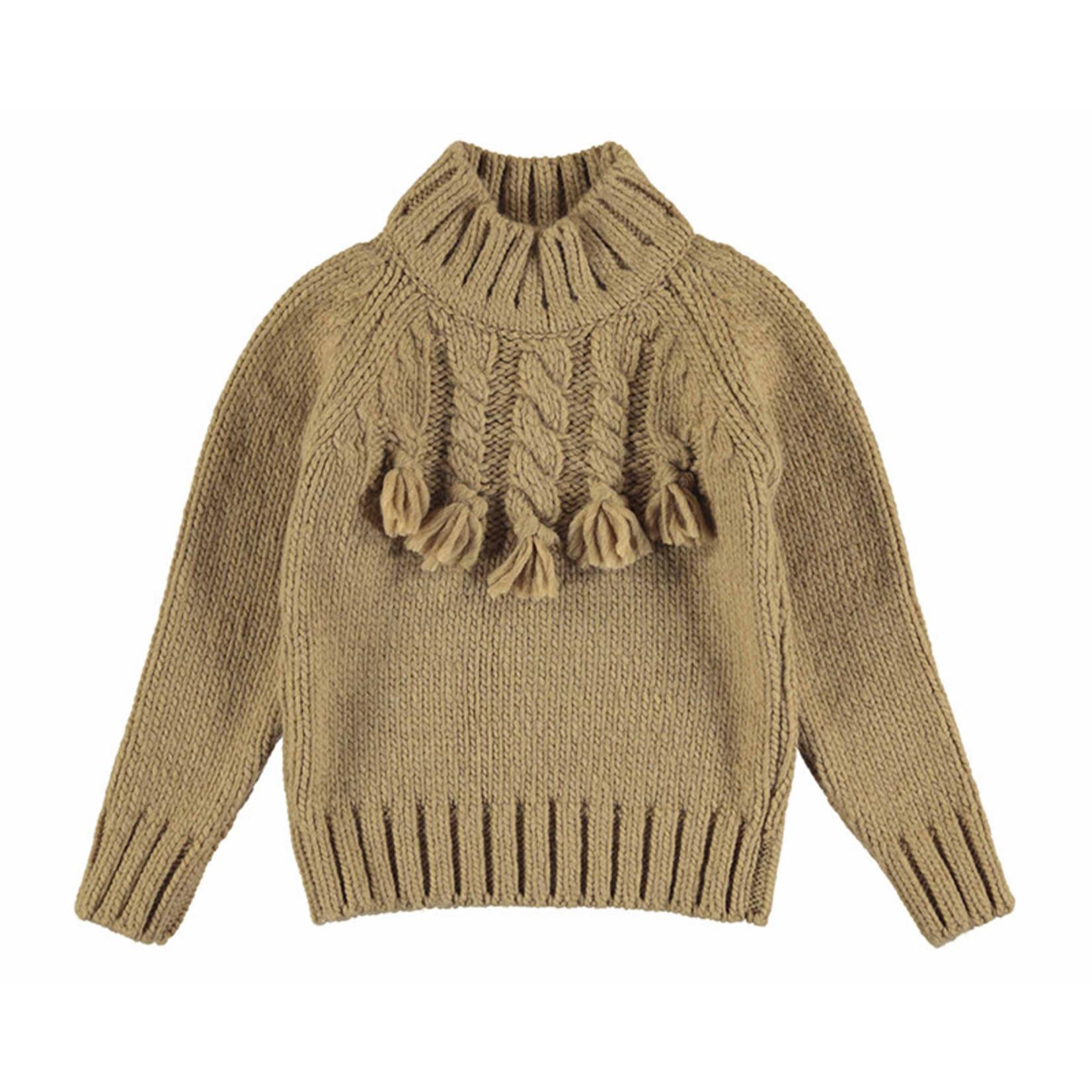 Camellia Sweater Braided Hazelnut - Mayoral
