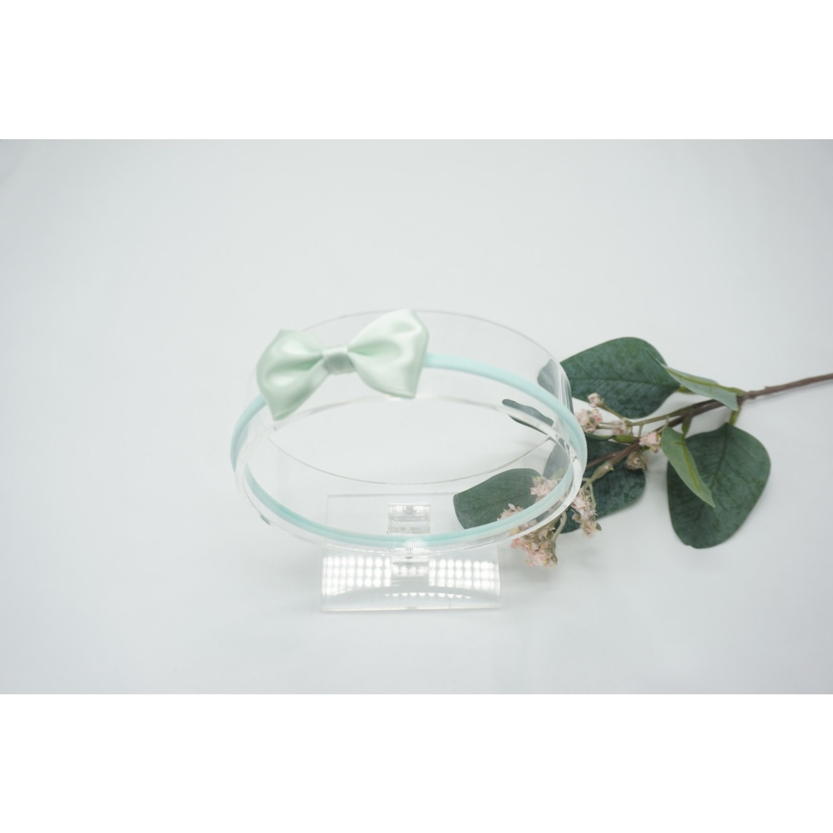 Newborn Hairbow Pastel Green