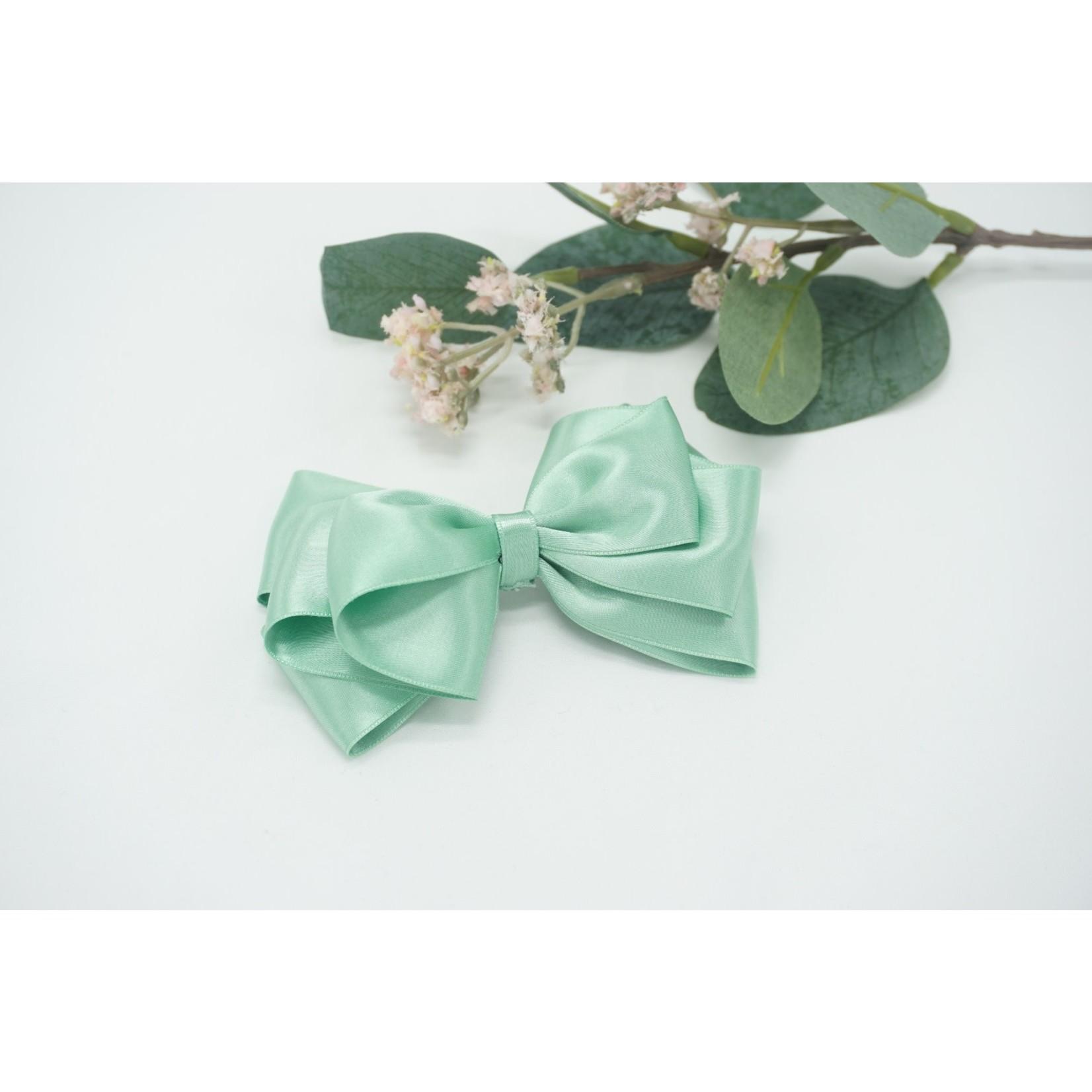 Butterfly Bow - Moss Green 12 cm