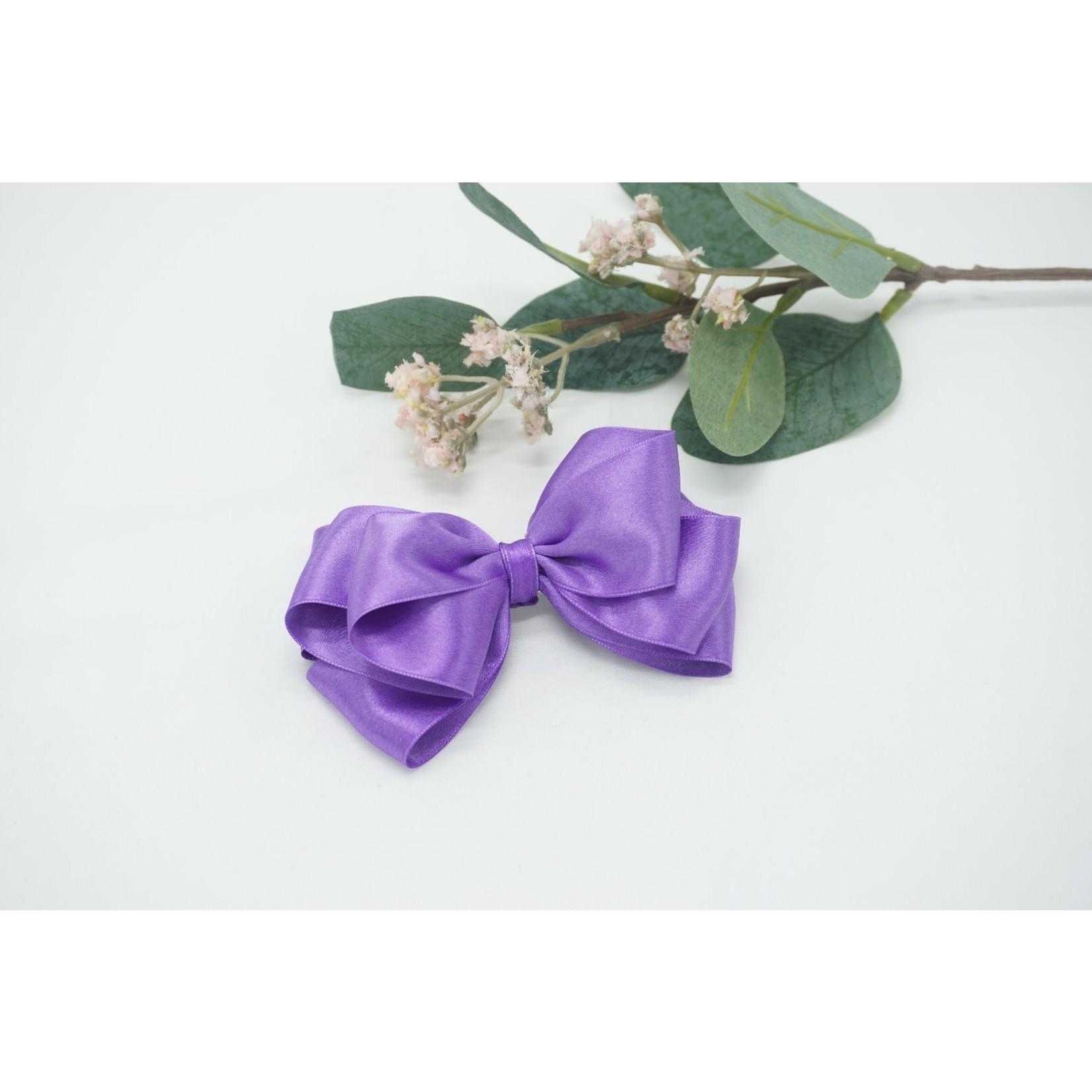 Butterfly Bow - Dark Violet 12 cm