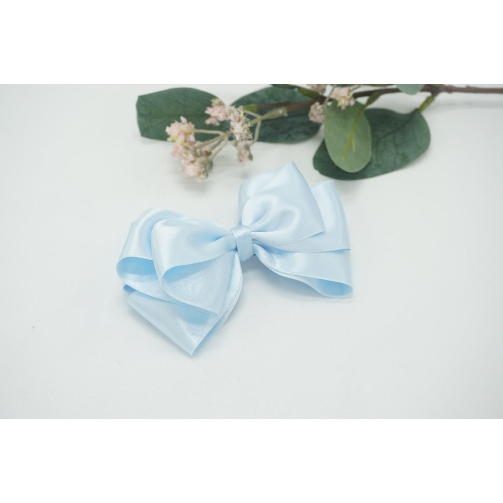 Petite Zara Butterfly Bow - Light Blue 12cm