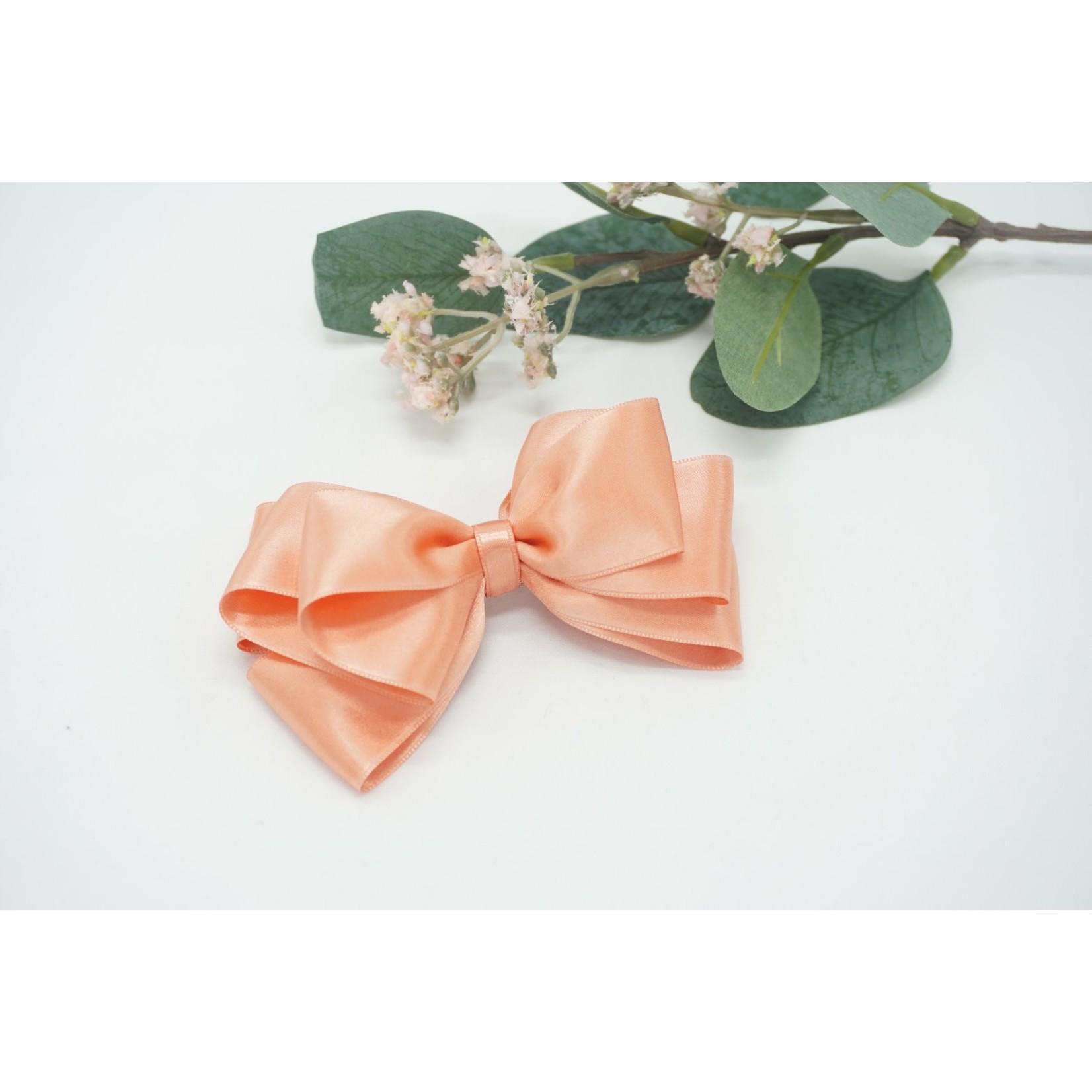 Butterfly Bow - Dark Salmon 12cm
