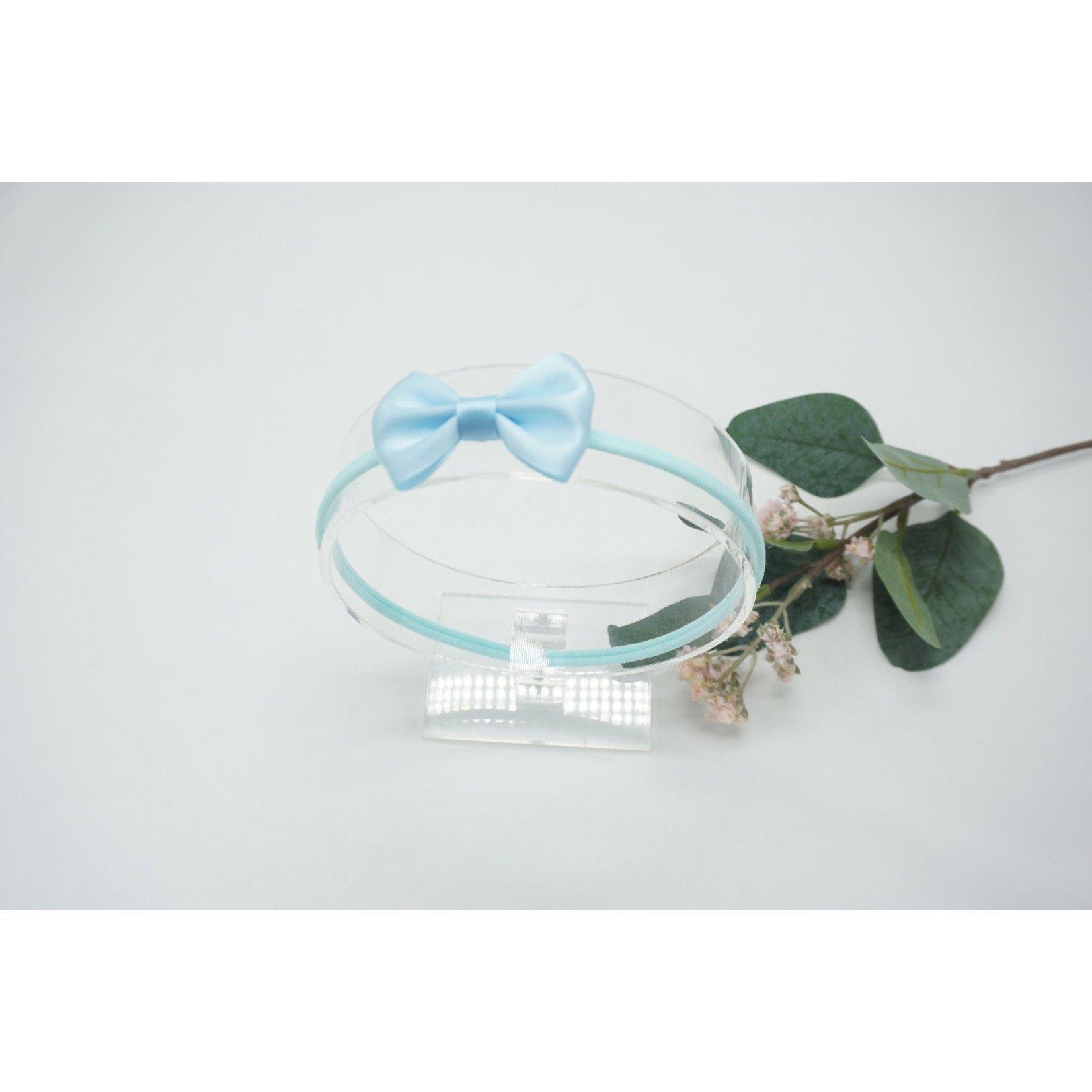 Newborn Hairbow Light Blue