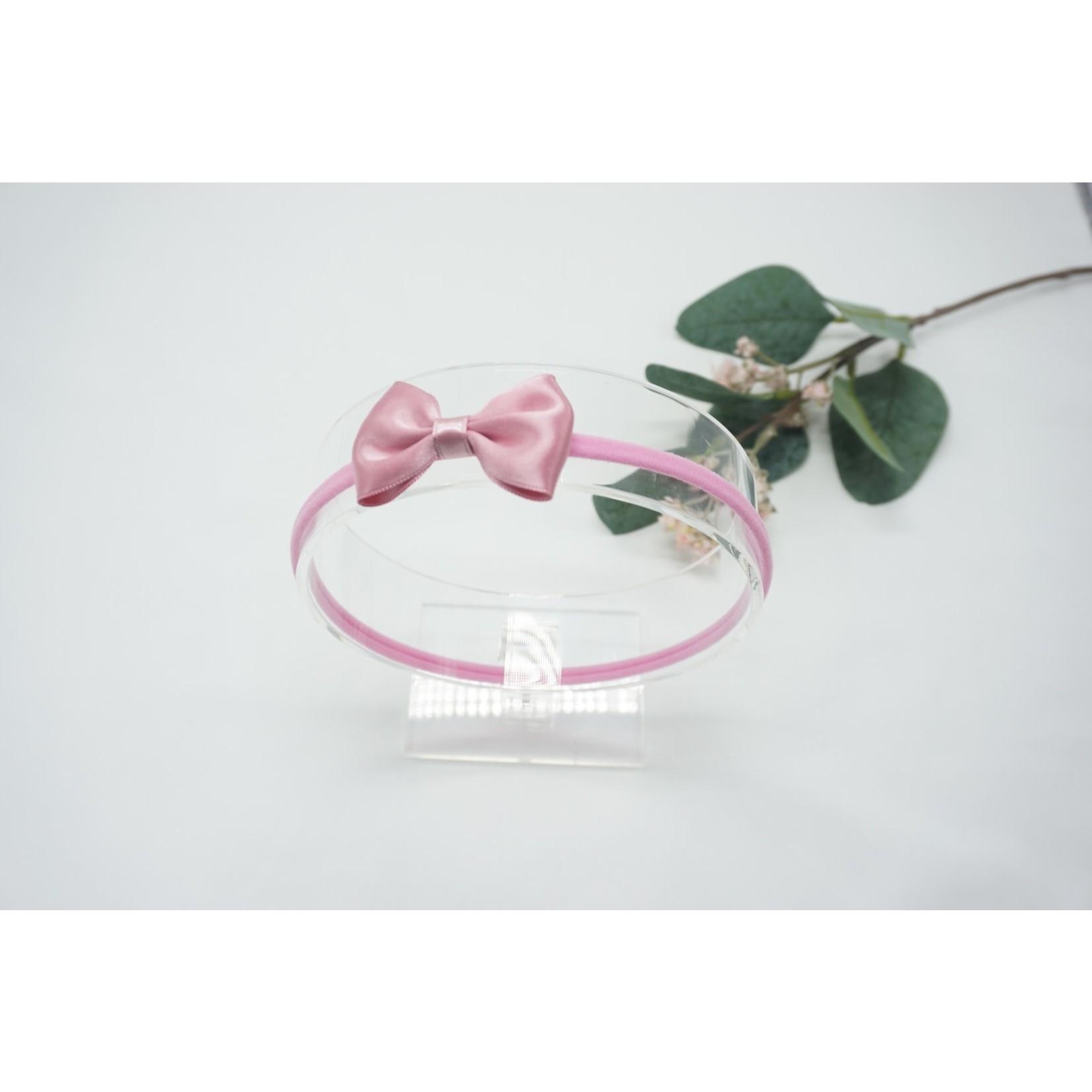 Newborn Hairbow Pale Pink