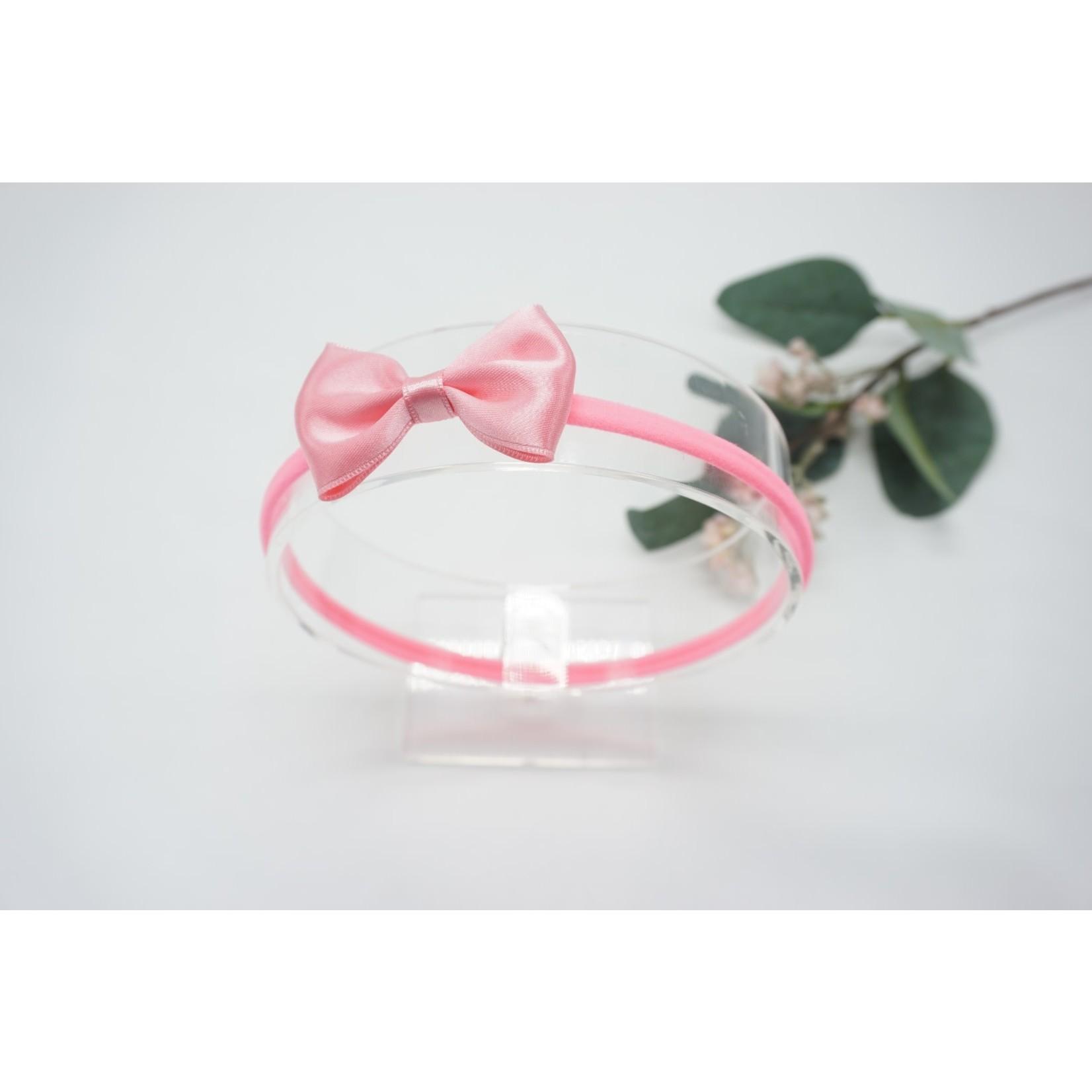 Newborn Hairbow Bright Pink