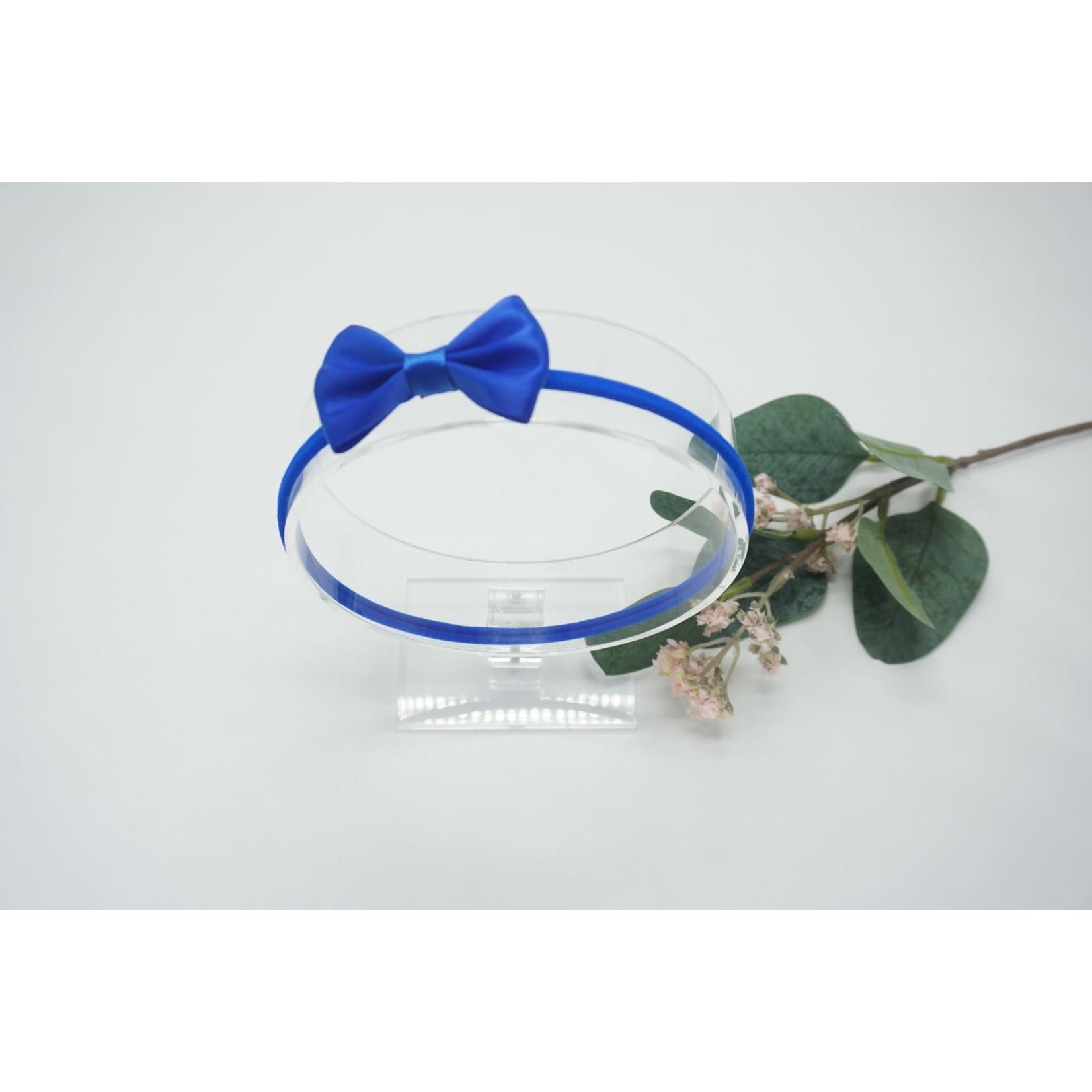Newborn Hairbow Royal Blue