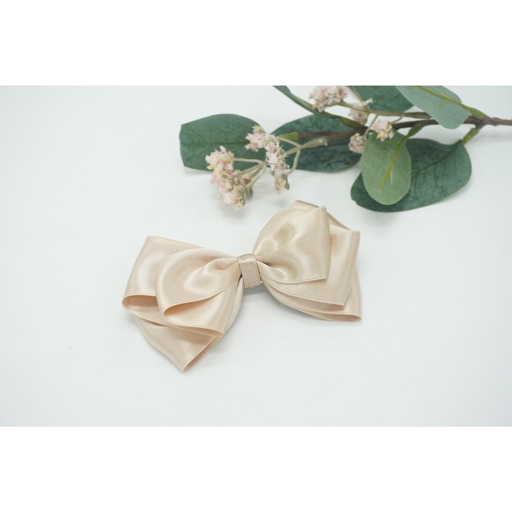 Petite Zara Butterfly Bow - Lino 12cm