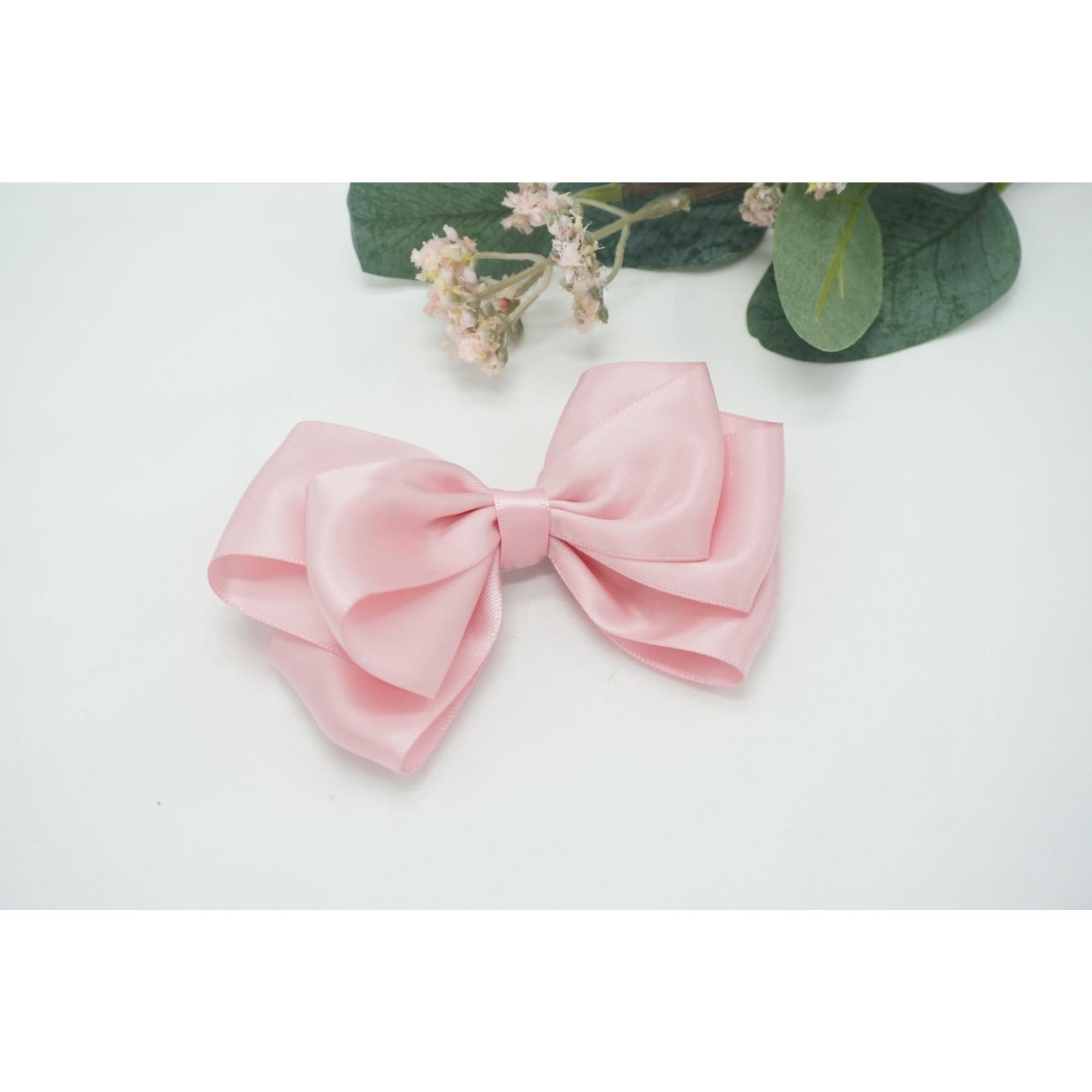 Petite Zara Butterfly Bow - Pink 12cm