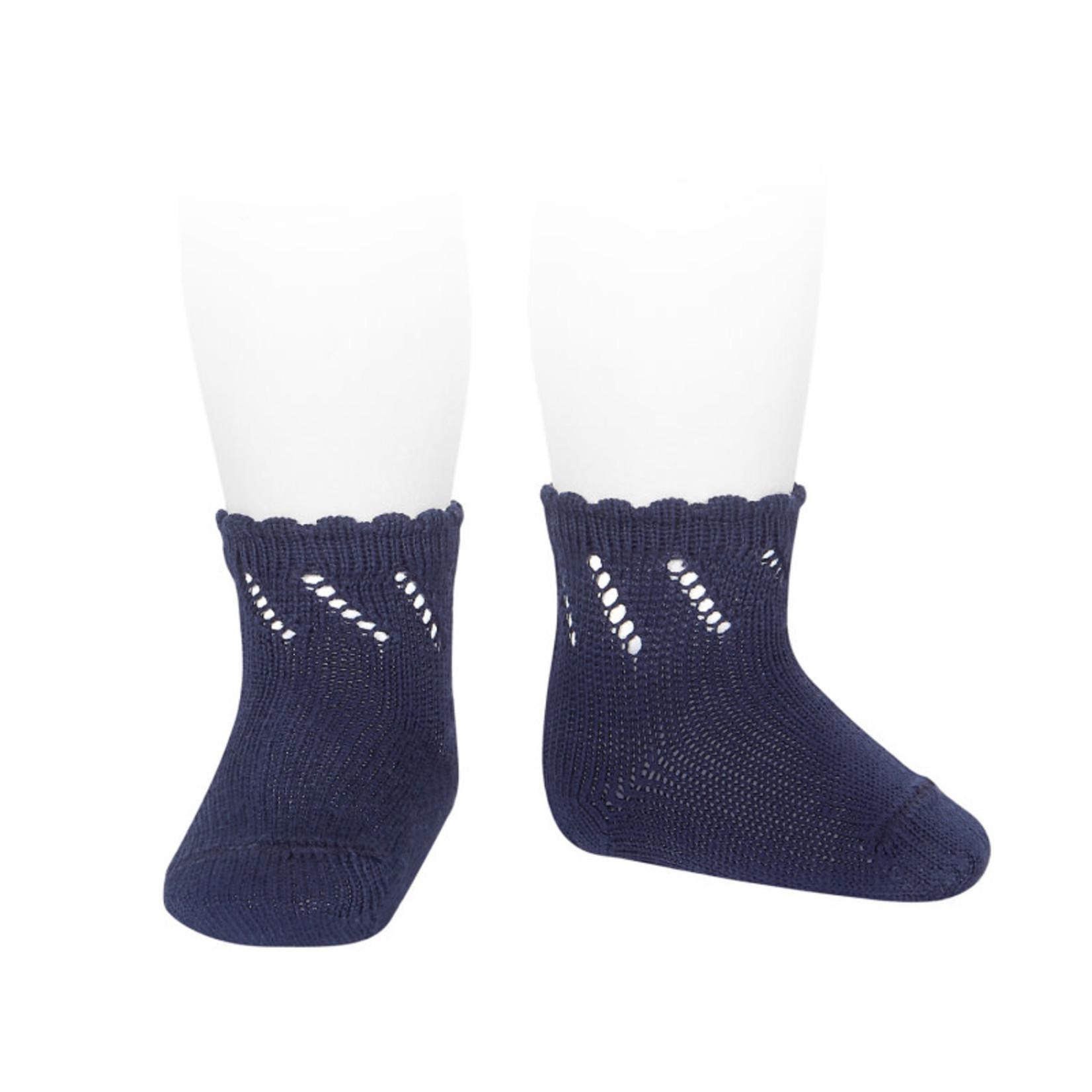 Condor Newborn Socks - Navy