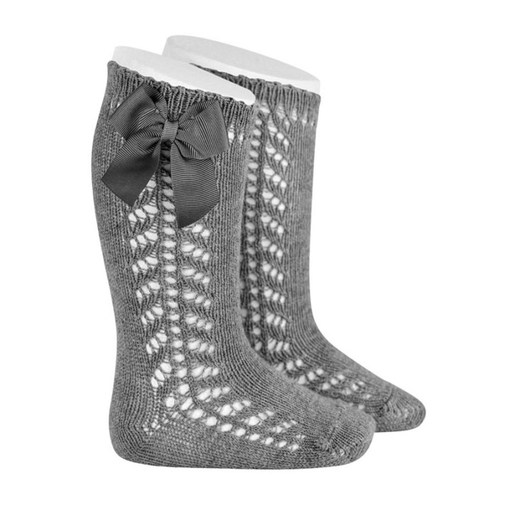 Newborn Knee Socks - Gray