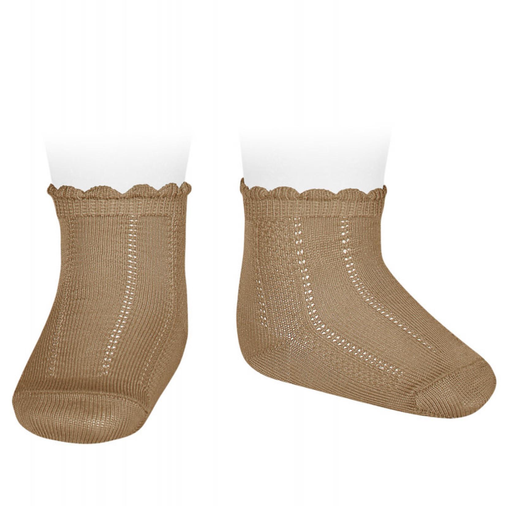 Condor Newborn  Socks - Camel