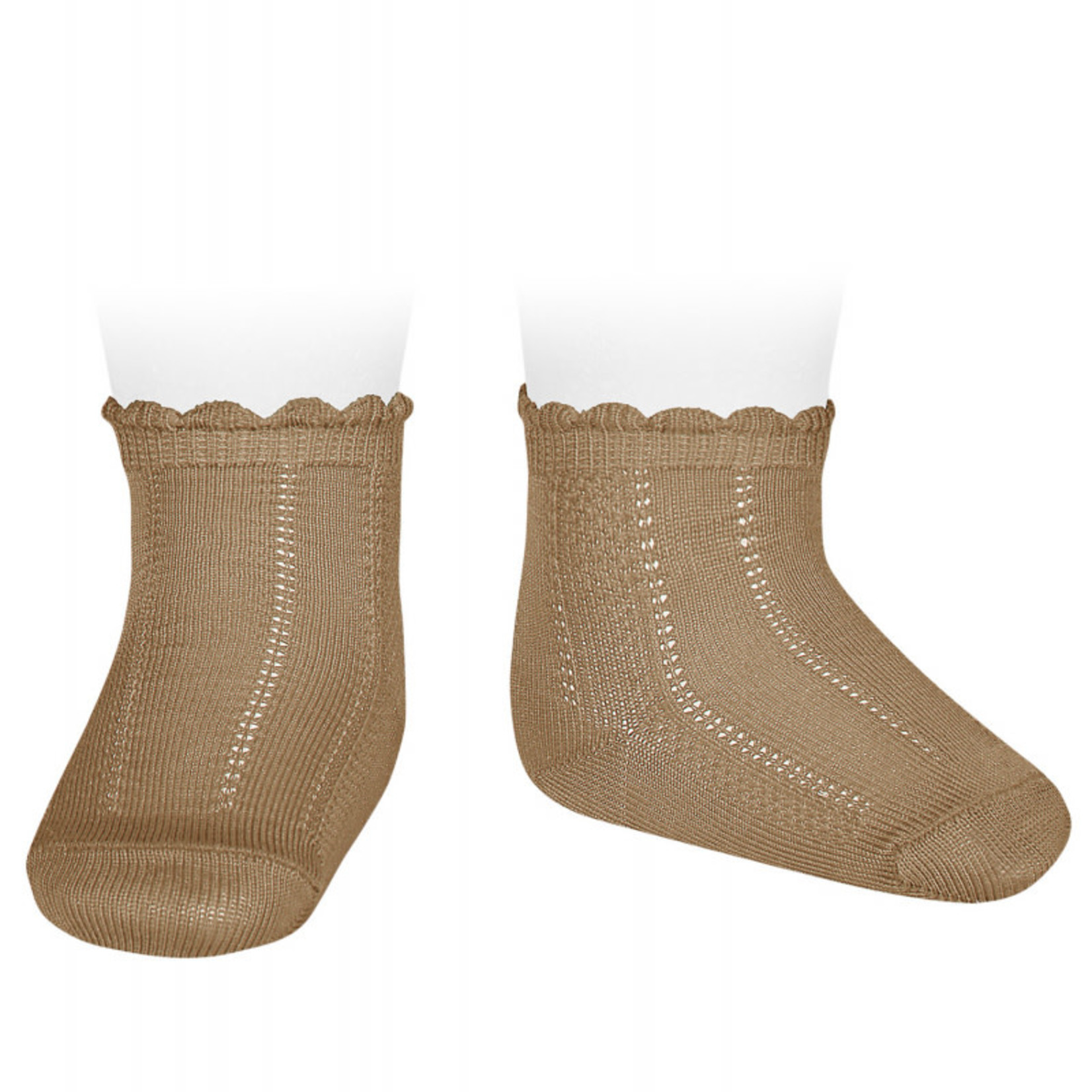 Newborn  Socks - Camel