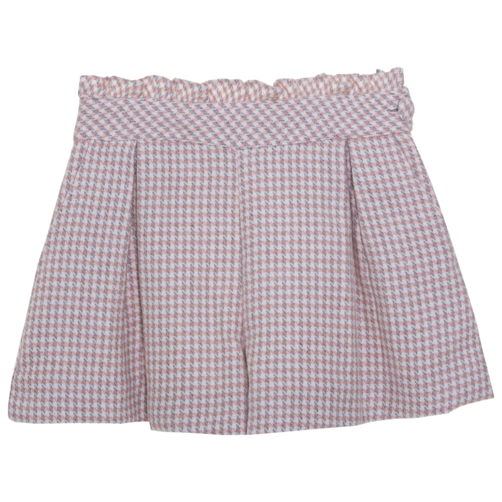 Patachou Short Pink Tartan - Patachou