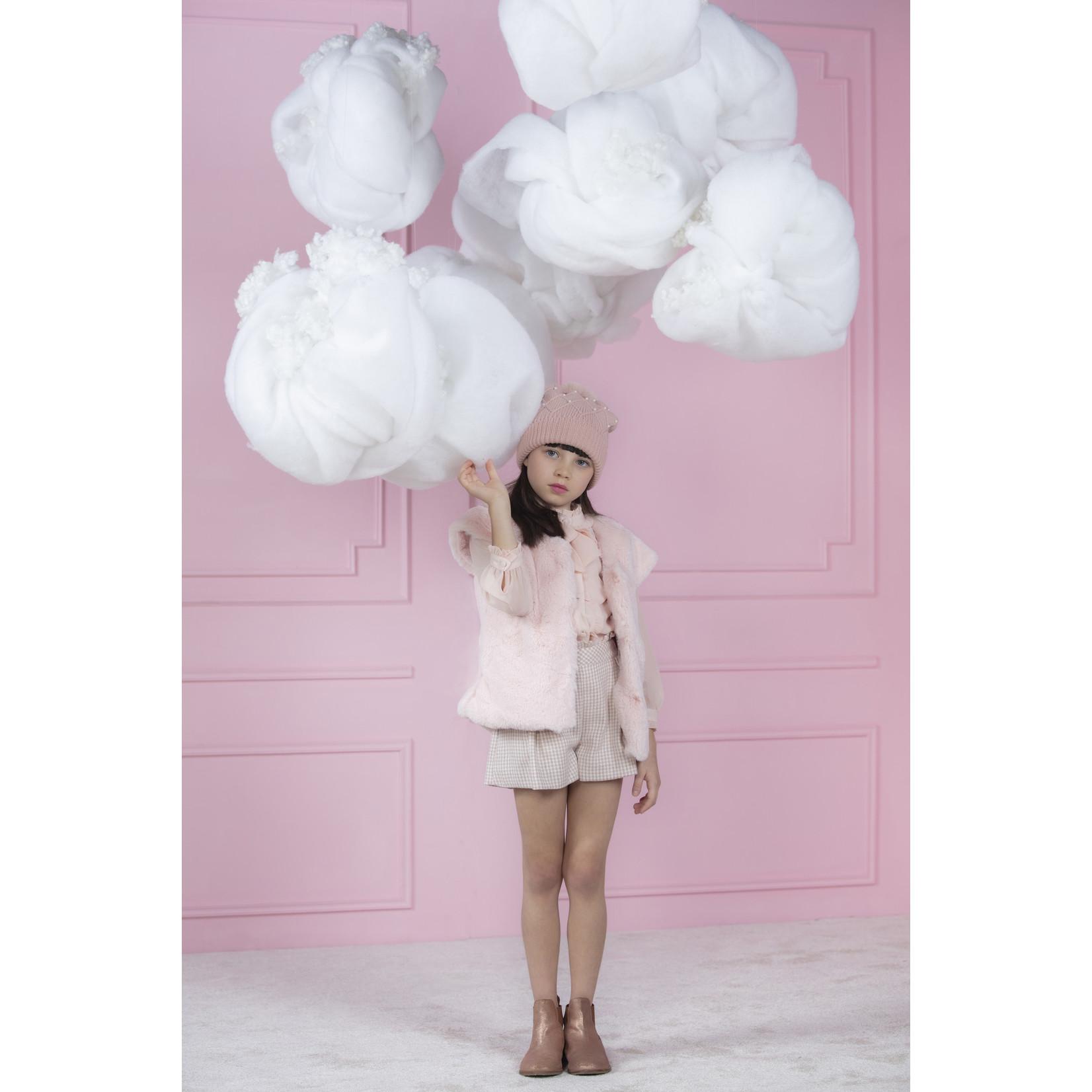 Short Pink Tartan - Patachou