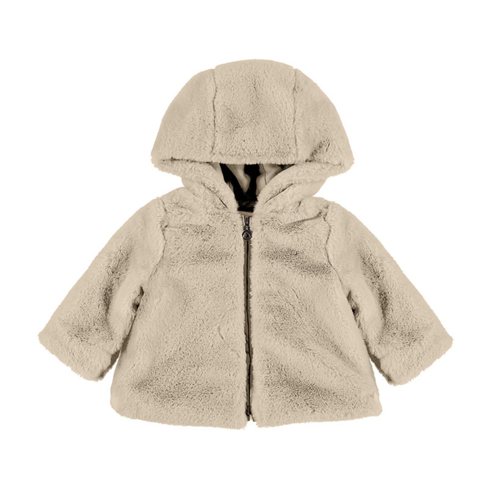 Mayoral Jacket Faux Fur - Mayoral