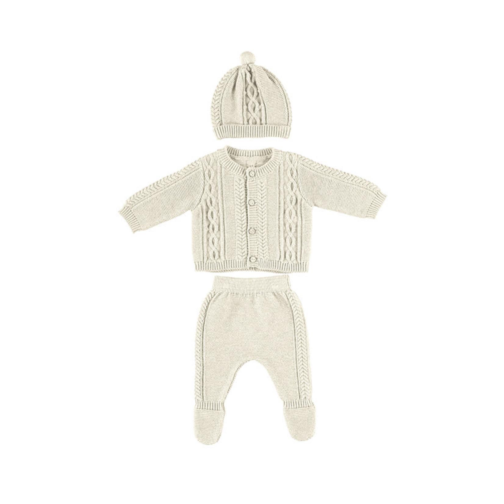 Mayoral Baby Set Ivory - Mayoral