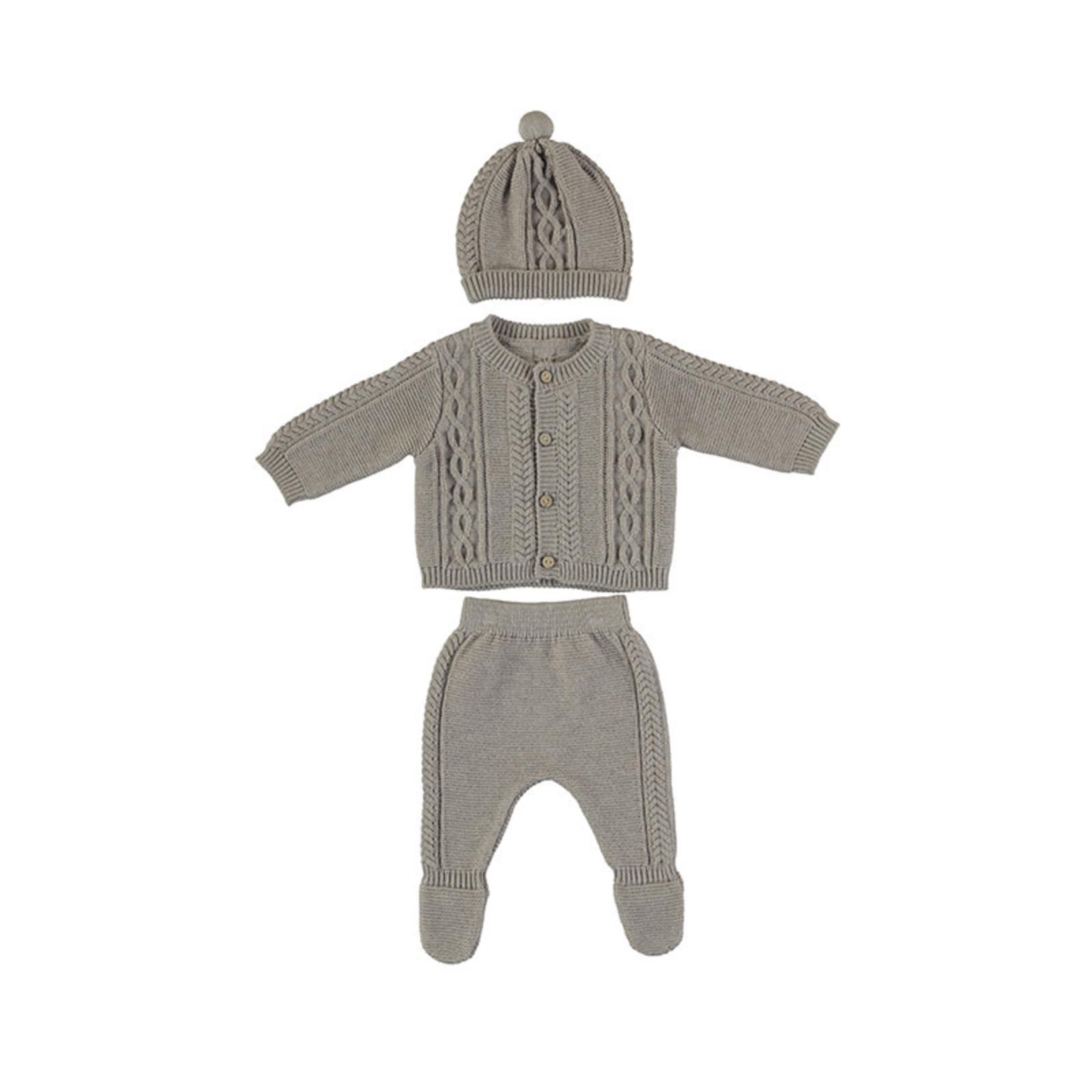Mayoral Baby Set Gray - Mayoral
