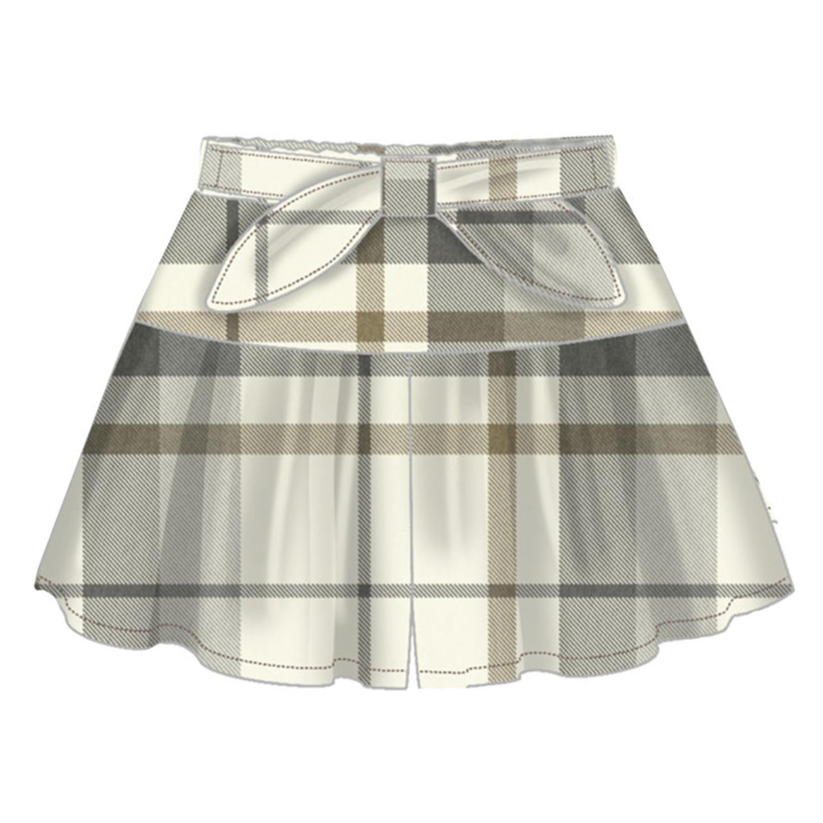 Mayoral Skirt Short Steel Lurex - Mayoral